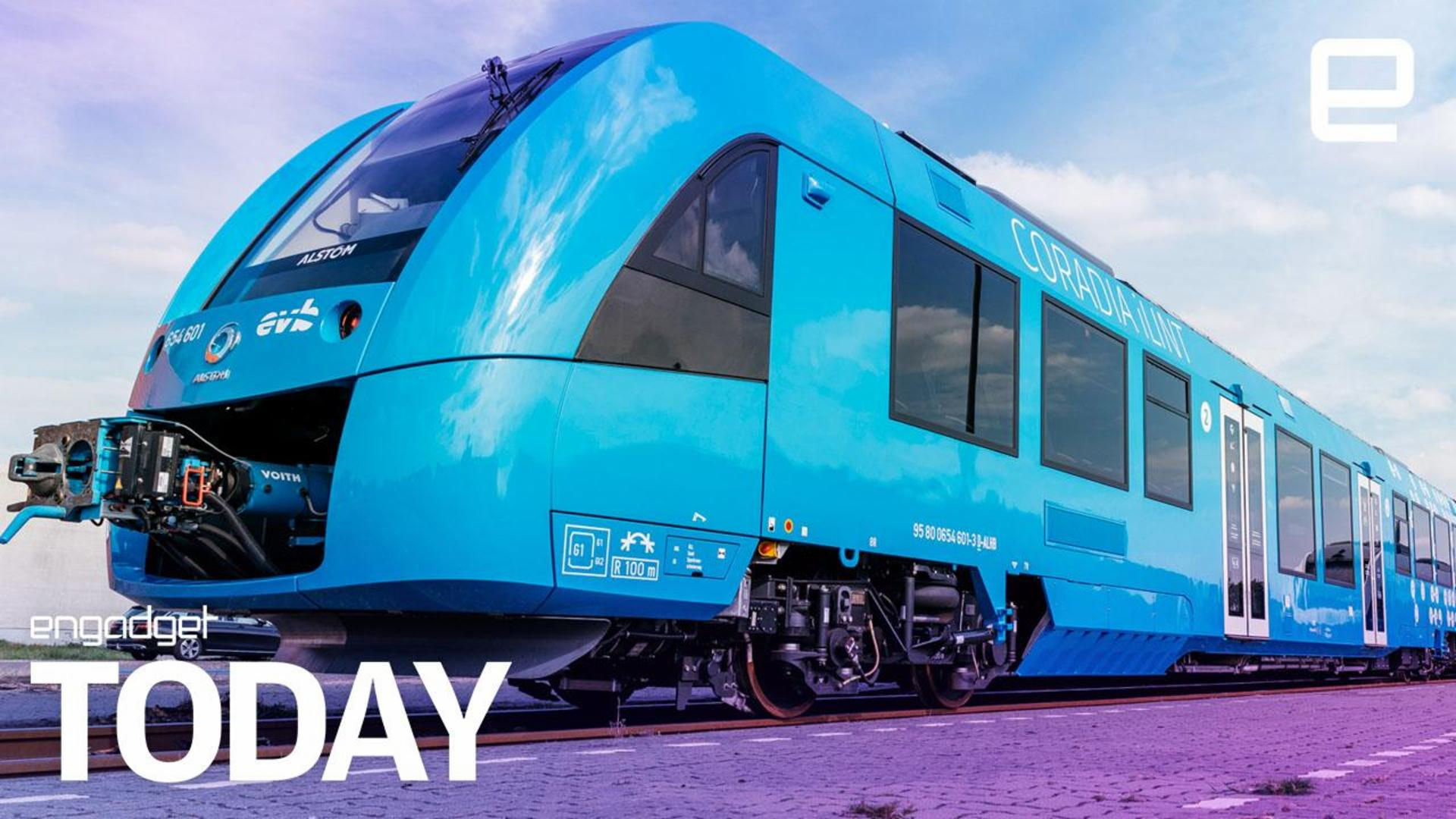 The world's first hydrogen train is now in service