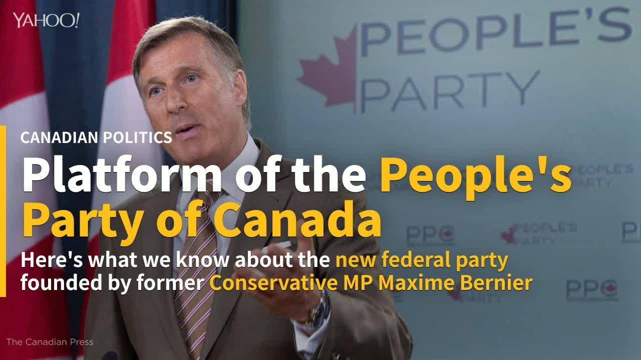 Rhinoceros Party Running Candidate Named Maxime Bernier In Beauce