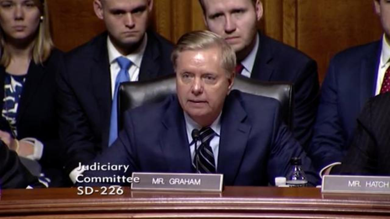Lindsey Graham's Old Comments About Merrick Garland Come Back To Haunt Him