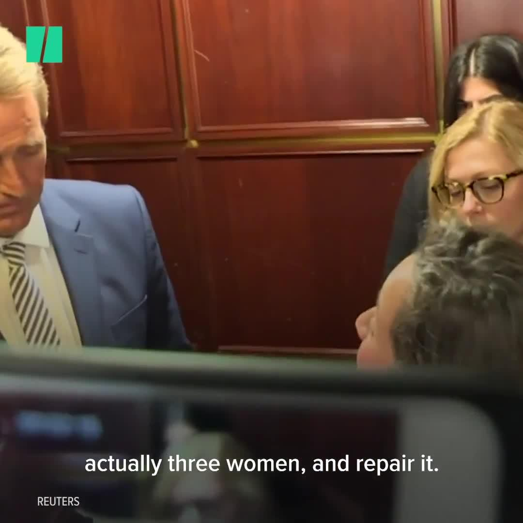 Sexual Assault Survivors Confront Jeff Flake On CNN: 'Don't Look Away From Me'