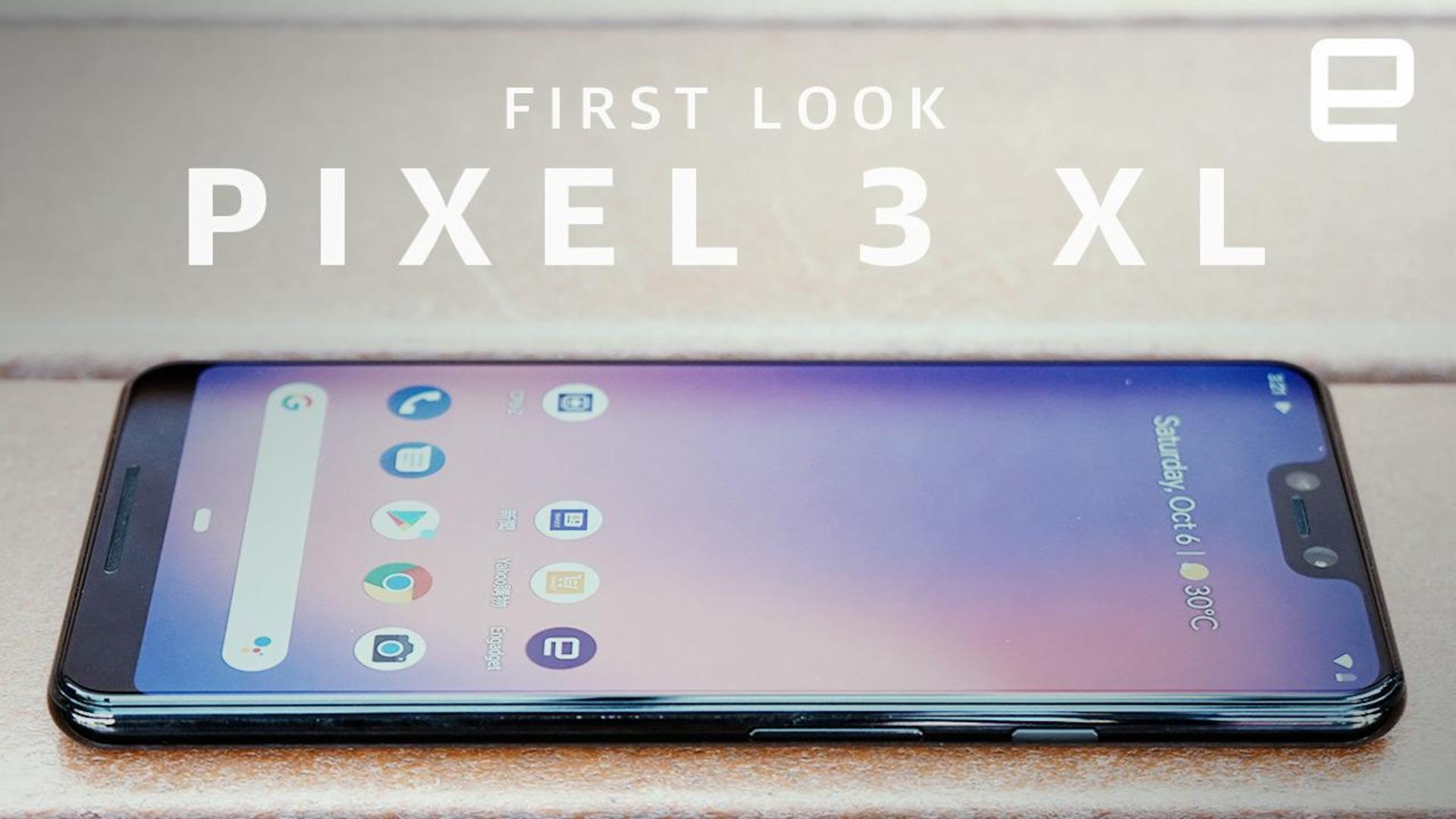 Google Pixel 3 XL hands-on in Hong Kong -- three days early