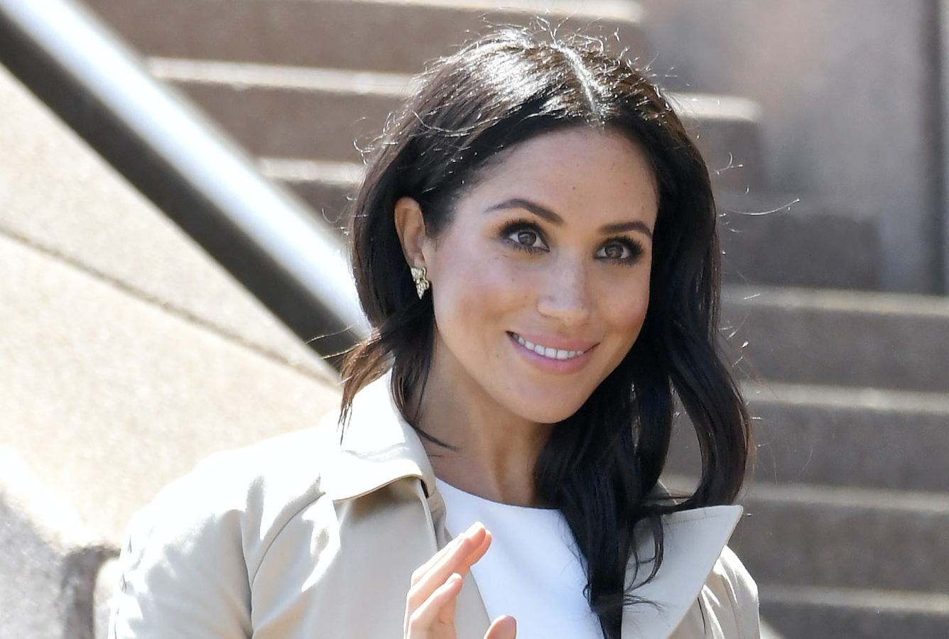 Meghan Markle's Butterfly Earrings Are A Sweet Tribute To Princess Diana   HuffPost Canada