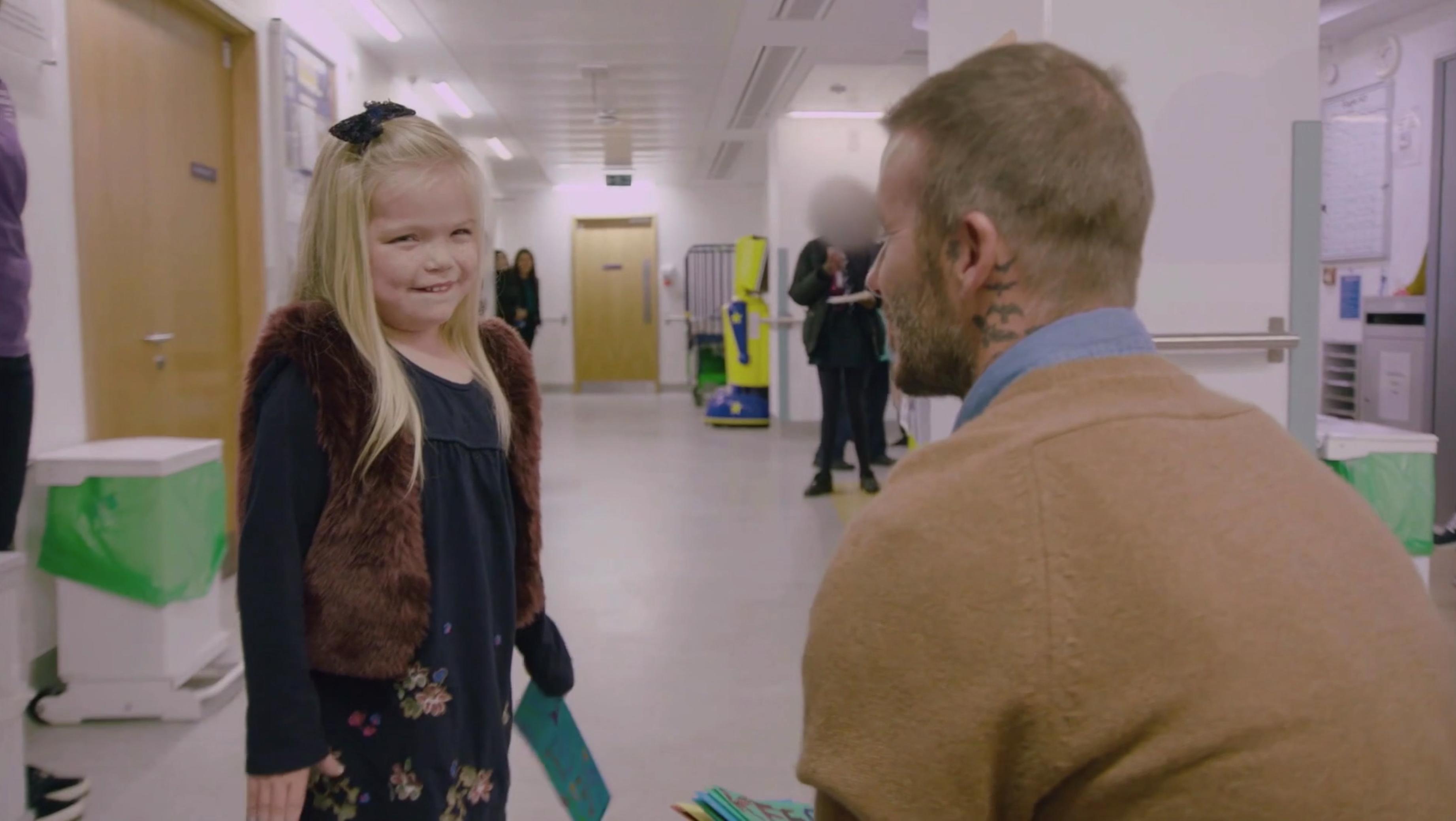 David Beckham Surprises 11-Year-Old Pride Of Britain Winner In Children's Hospital