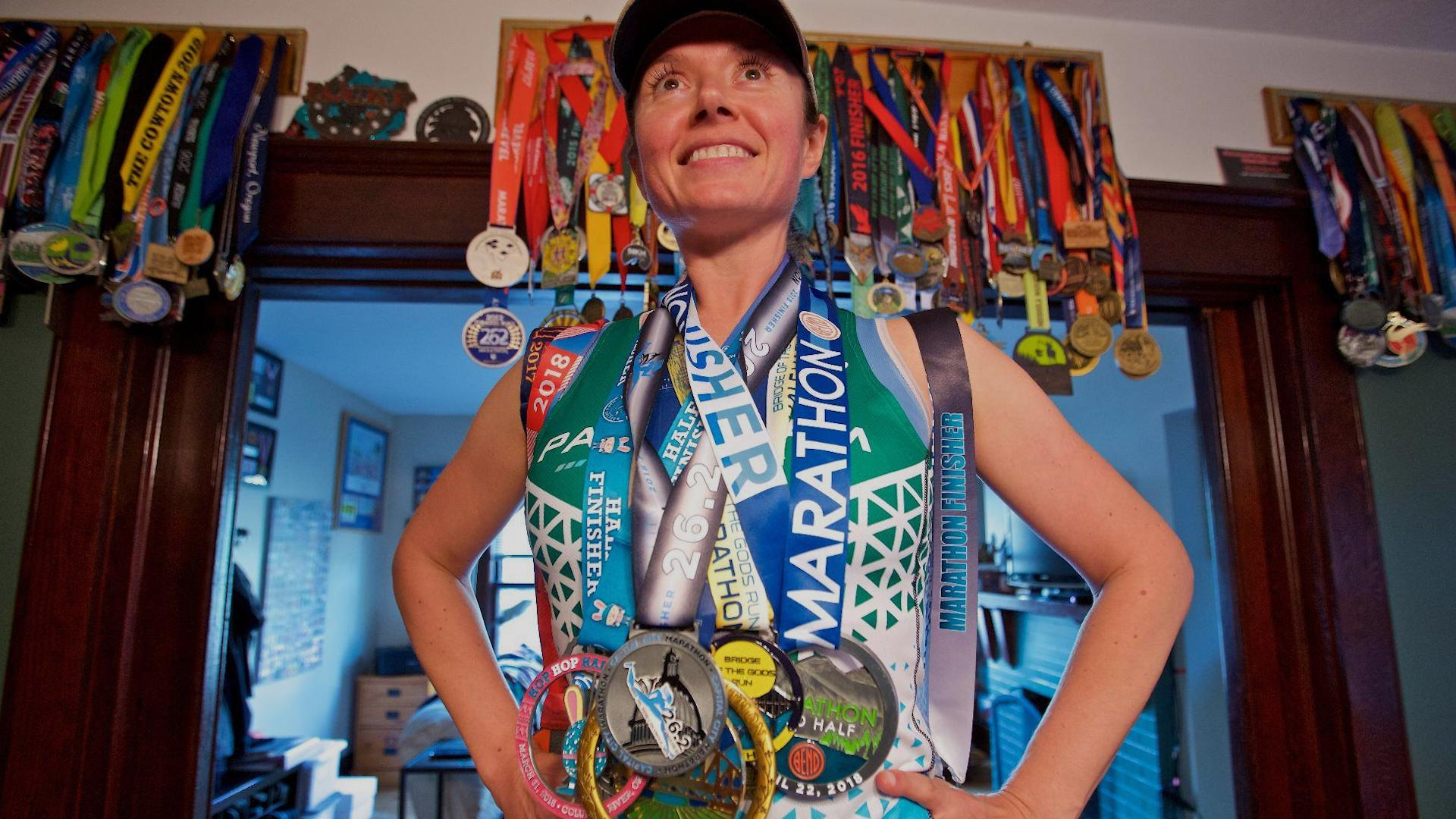 Grandad Who's Run 23 Ultra-Marathons Says Secret Is A Daily Cup Of Hot Chocolate And Wine Gums
