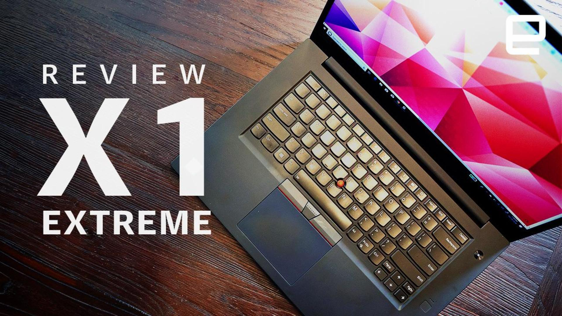 ThinkPad X1 Extreme review: Big on power and price
