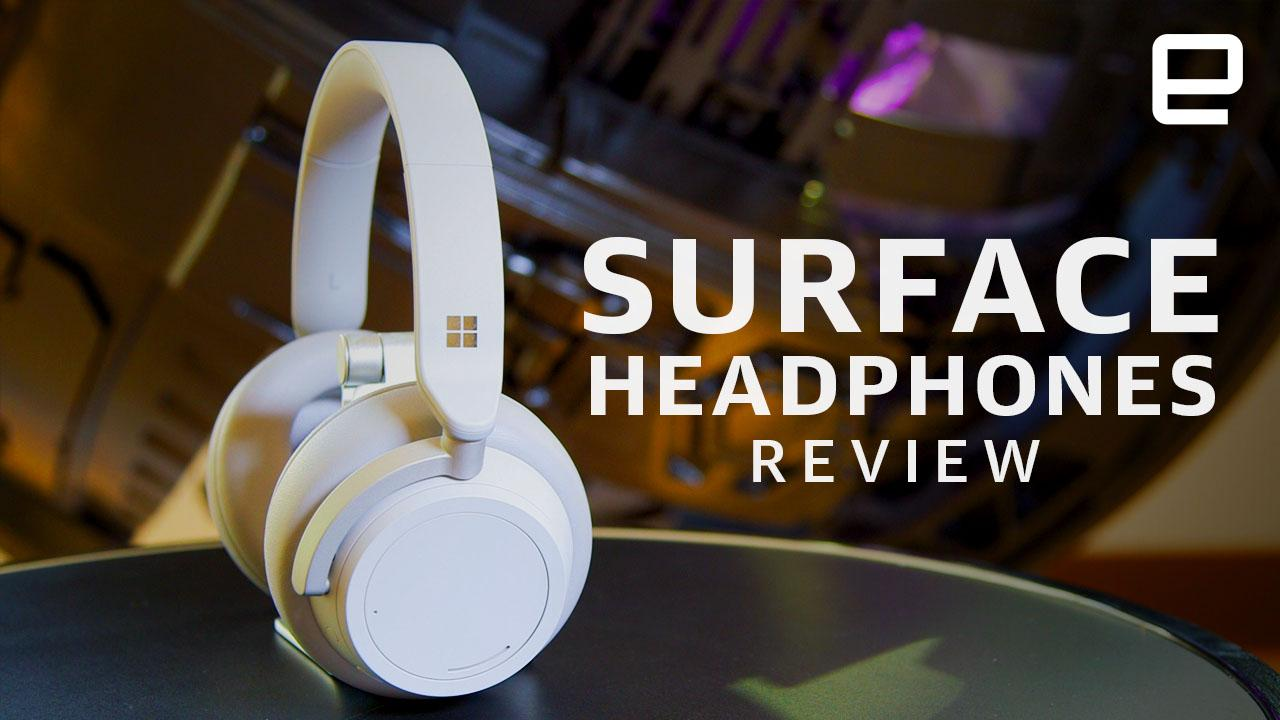 Microsoft's Surface Headphones are a good first try