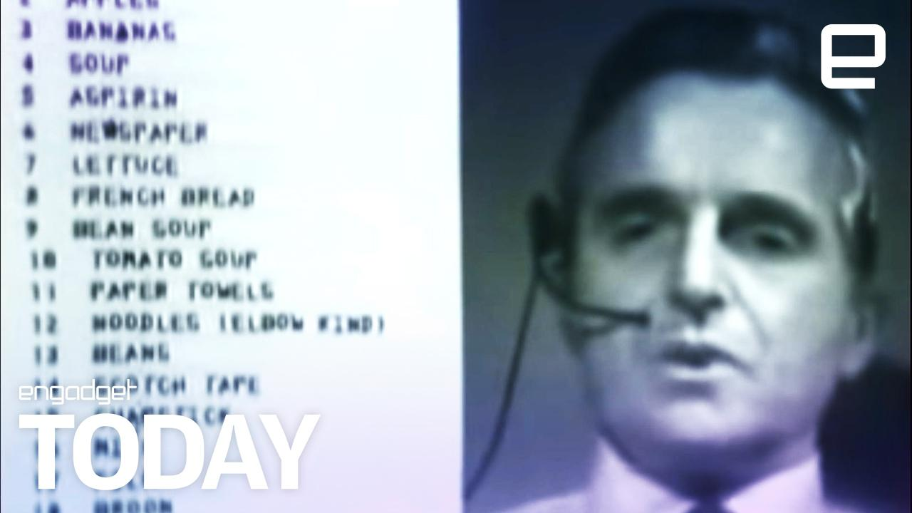 50 years ago, 'the mother of all demos' foretold our tech future