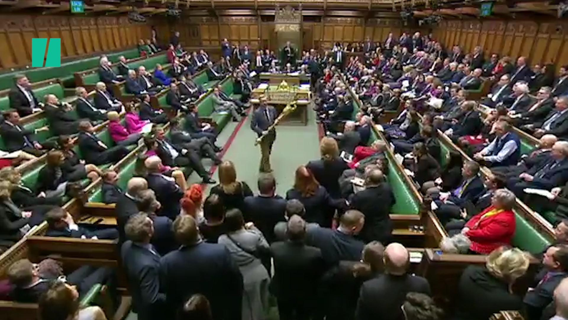 Labour MP Grabs Ceremonial Mace In Brexit Protest | HuffPost UK