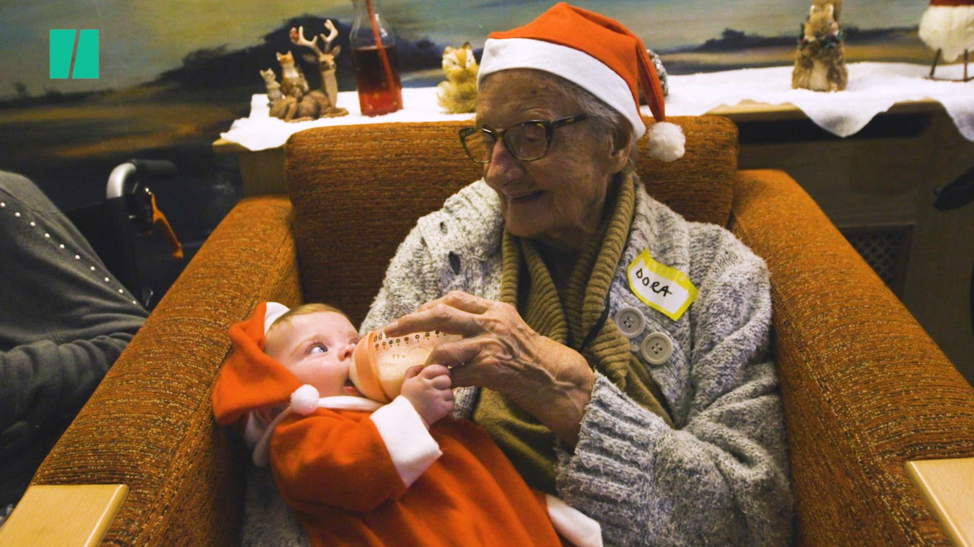 Watch: Toddlers And The Elderly Sing Christmas Songs To Fight Loneliness