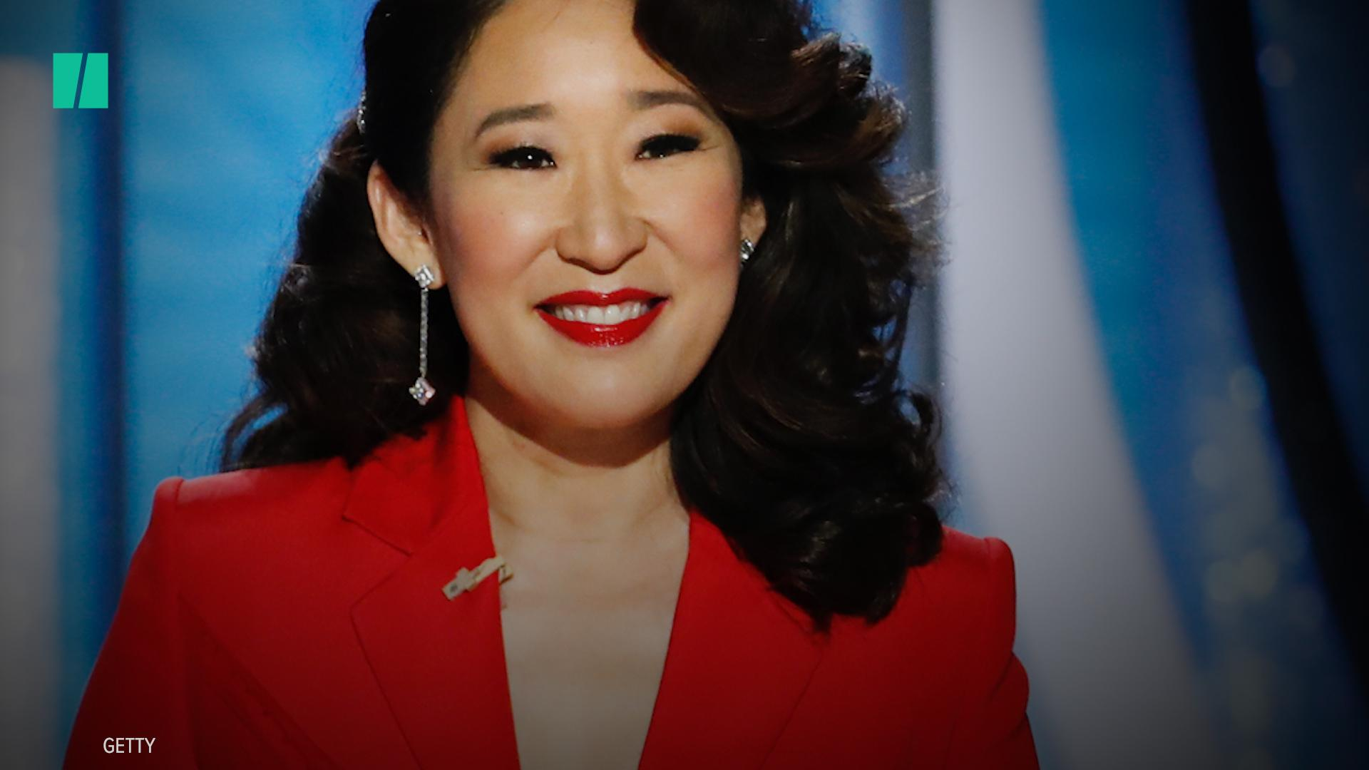Sandra Oh On Why She's Giving 'Less F**ks' And Feeling More Secure