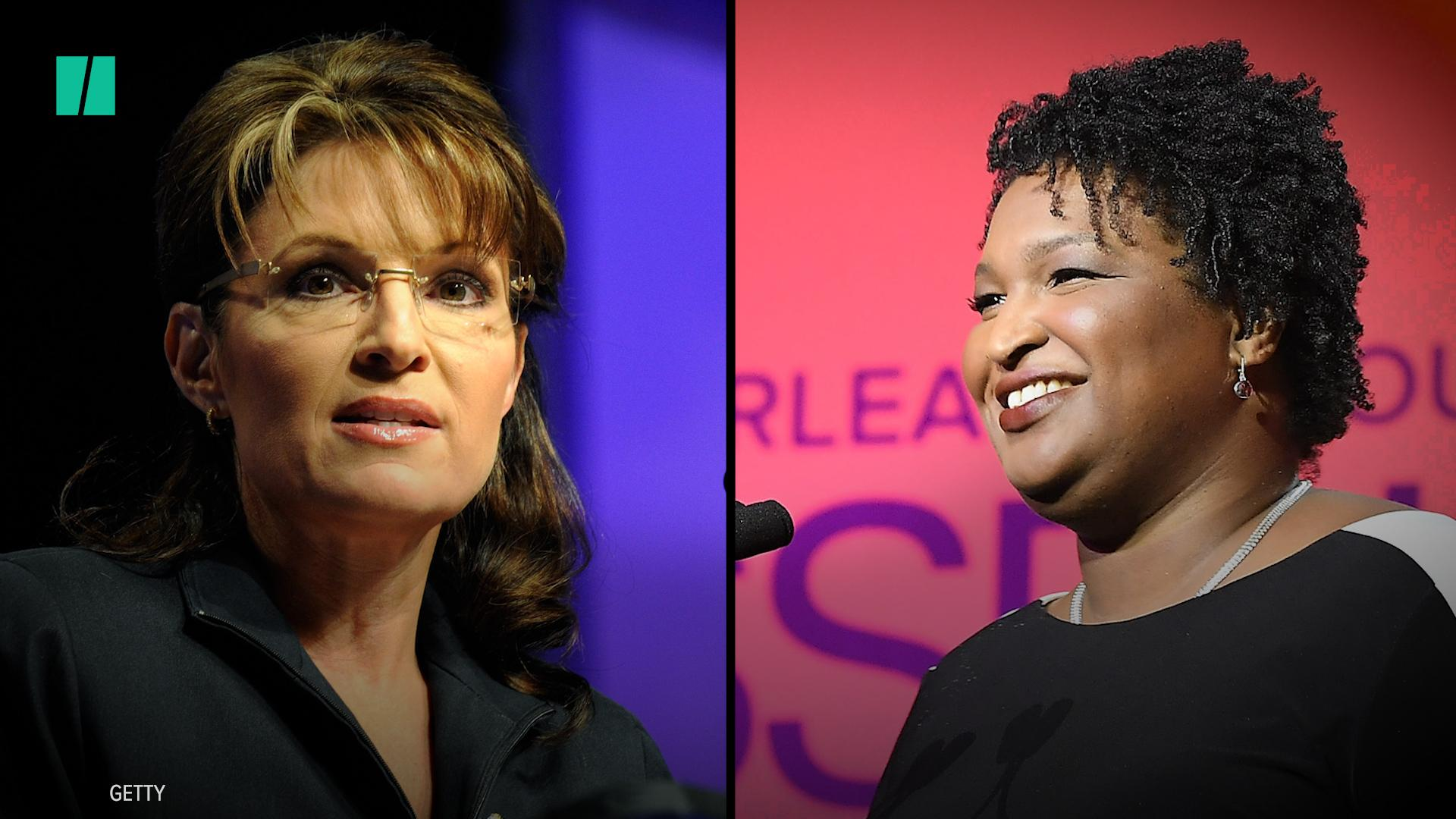 Sarah Palin's Attempt To Mock 'Literal Loser' Stacey Abrams Backfires On Twitter