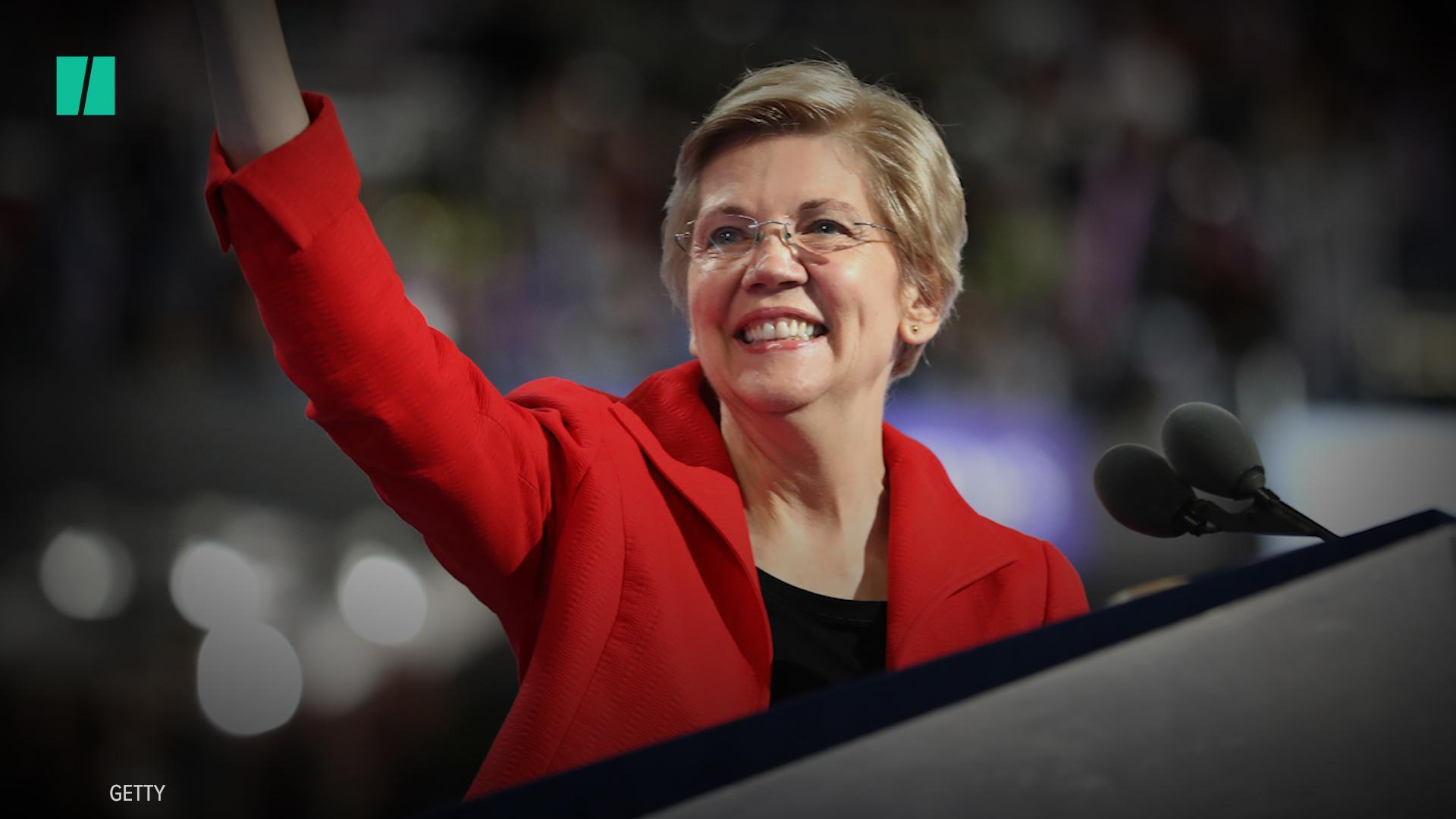Elizabeth Warren Is Officially Running For President