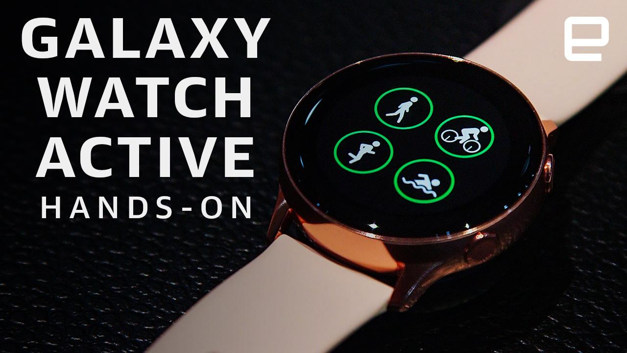 Samsung Galaxy Watch Active hands-on: Ready for the gym