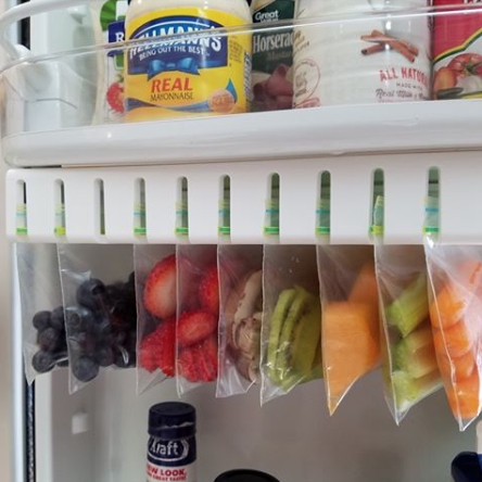 Organizing and storing food in your refrigerator are both so much easier with this device