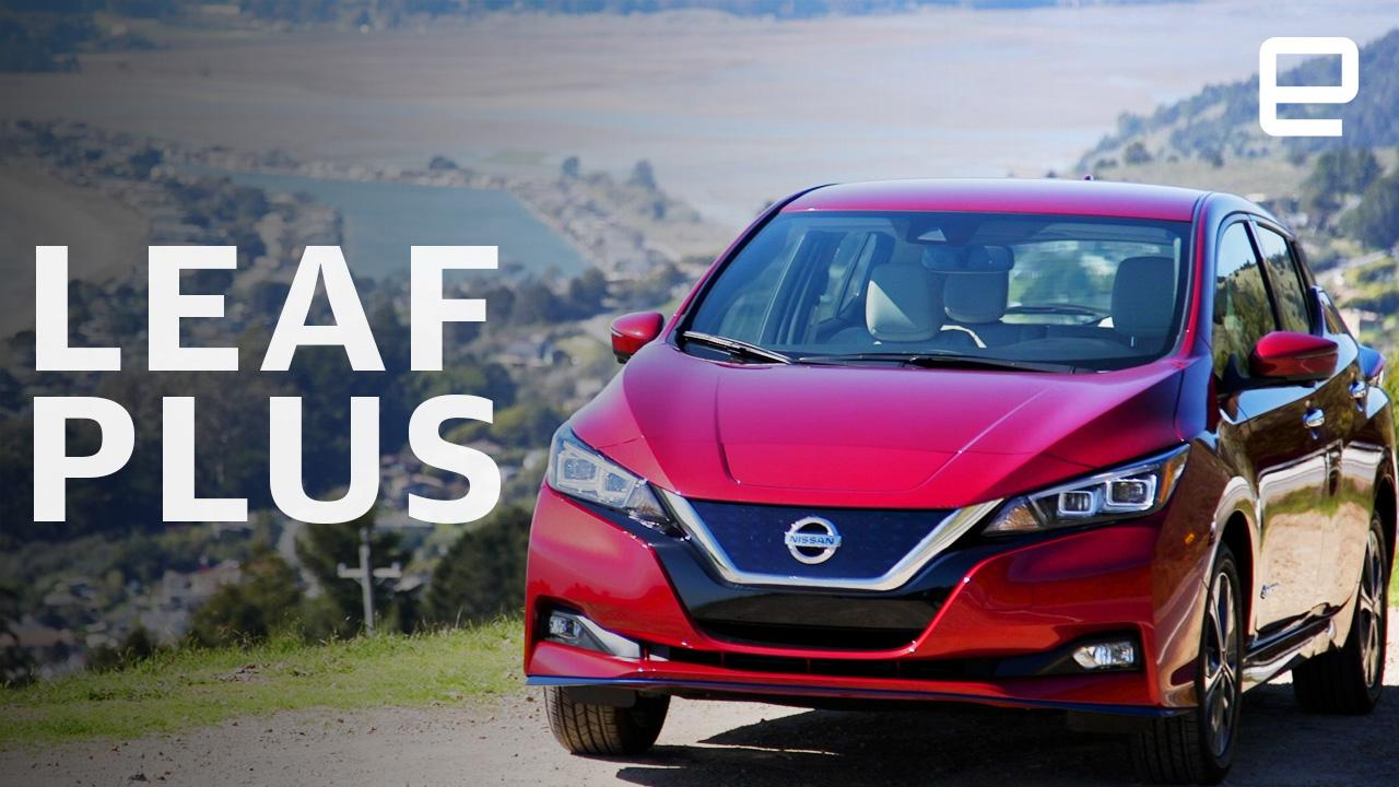 The Nissan Leaf Plus adds more EV range but not more fun