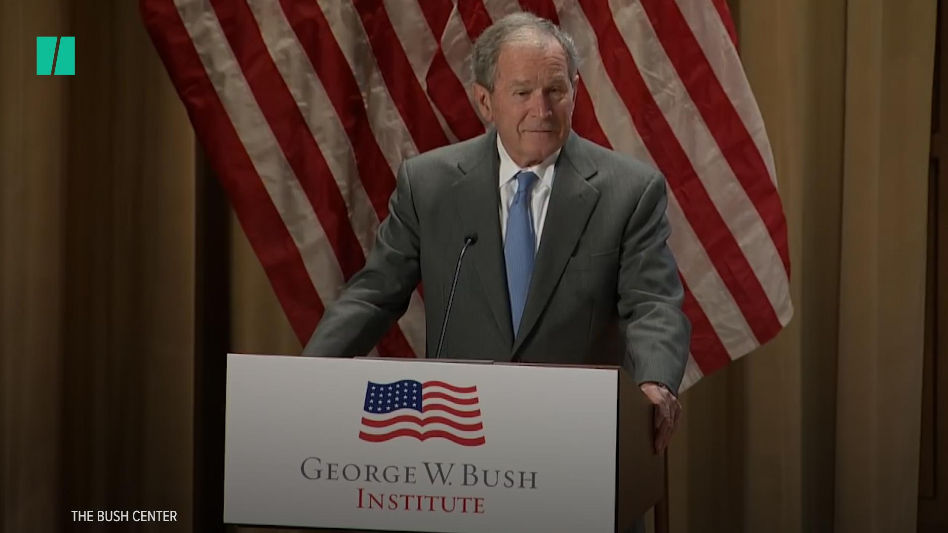 George W. Bush Draws Direct Line Between Immigration And America's Success