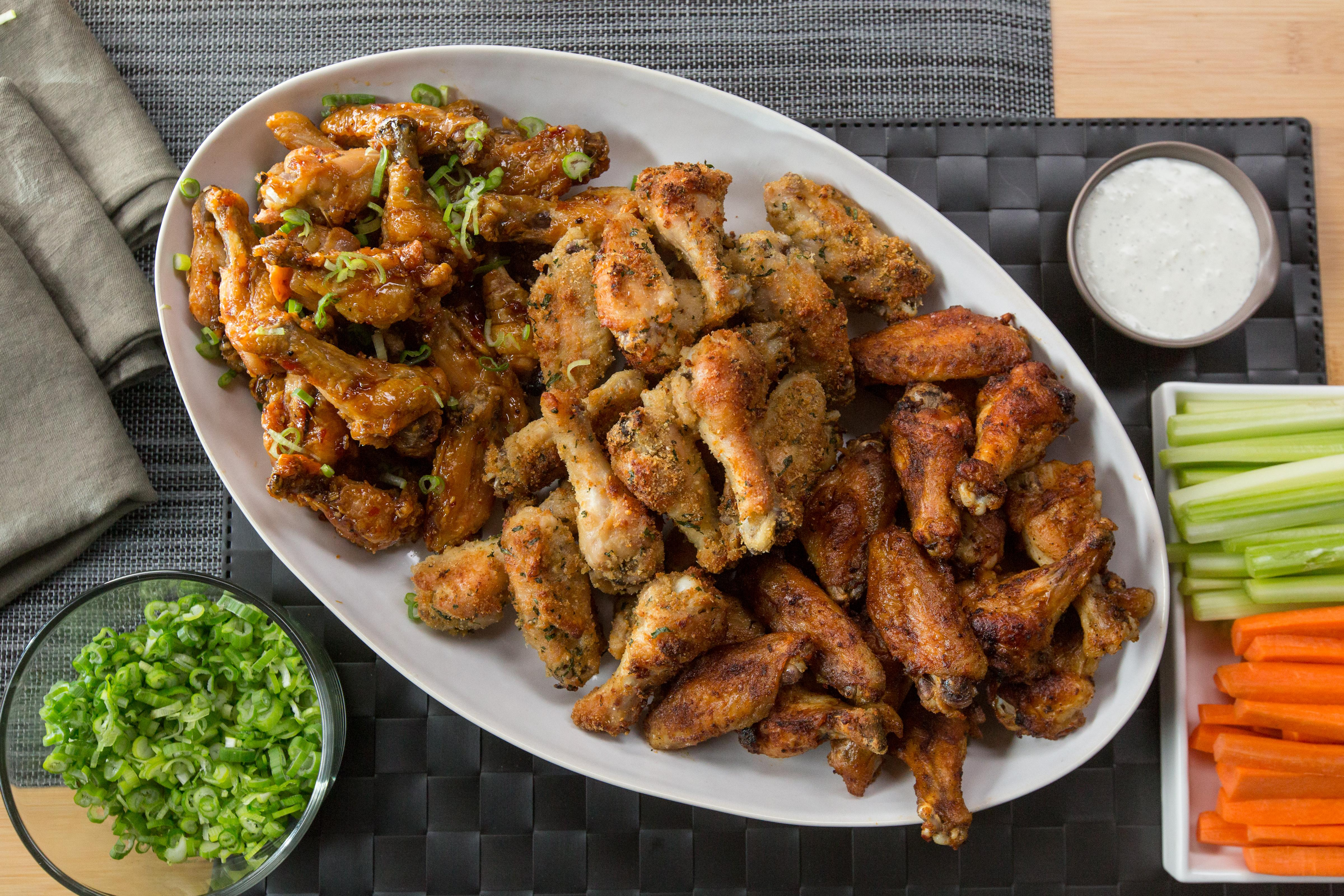 Try these 3 unique twists on chicken wings for game day