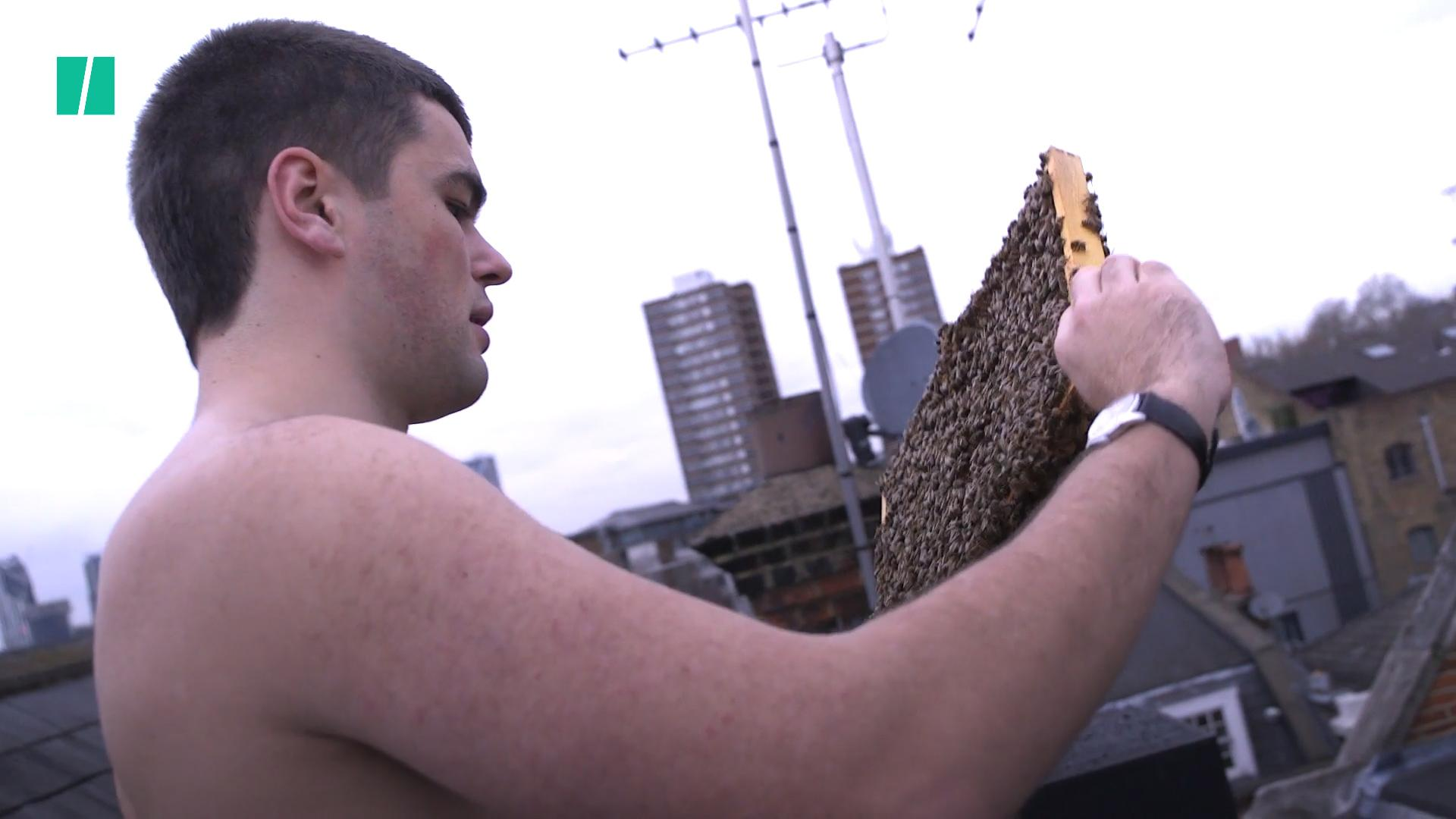 Meet London's Naked Beekeeper