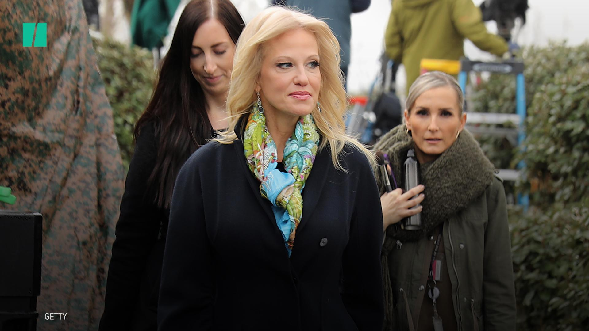Kellyanne And George Conway Get Kinky Over Trump Feud On 'Full Frontal'