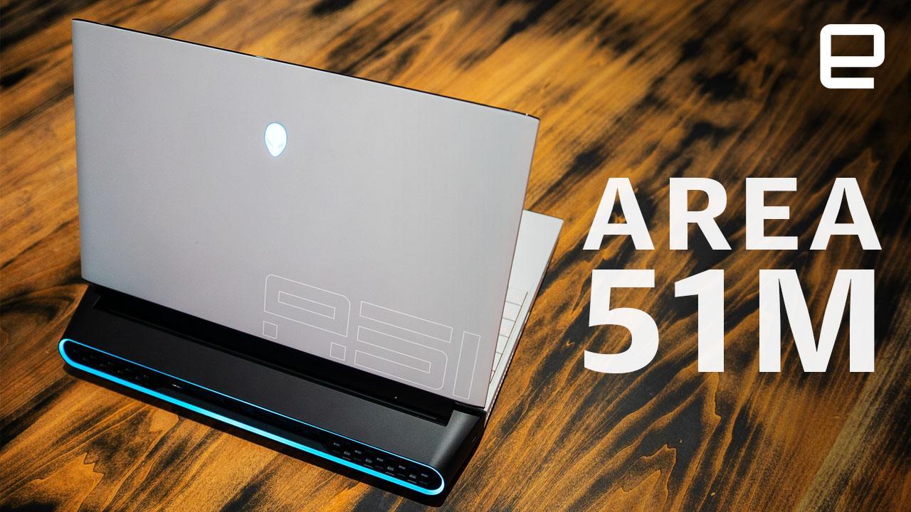 Alienware Area-51M review: A gaming desktop stuffed inside a laptop