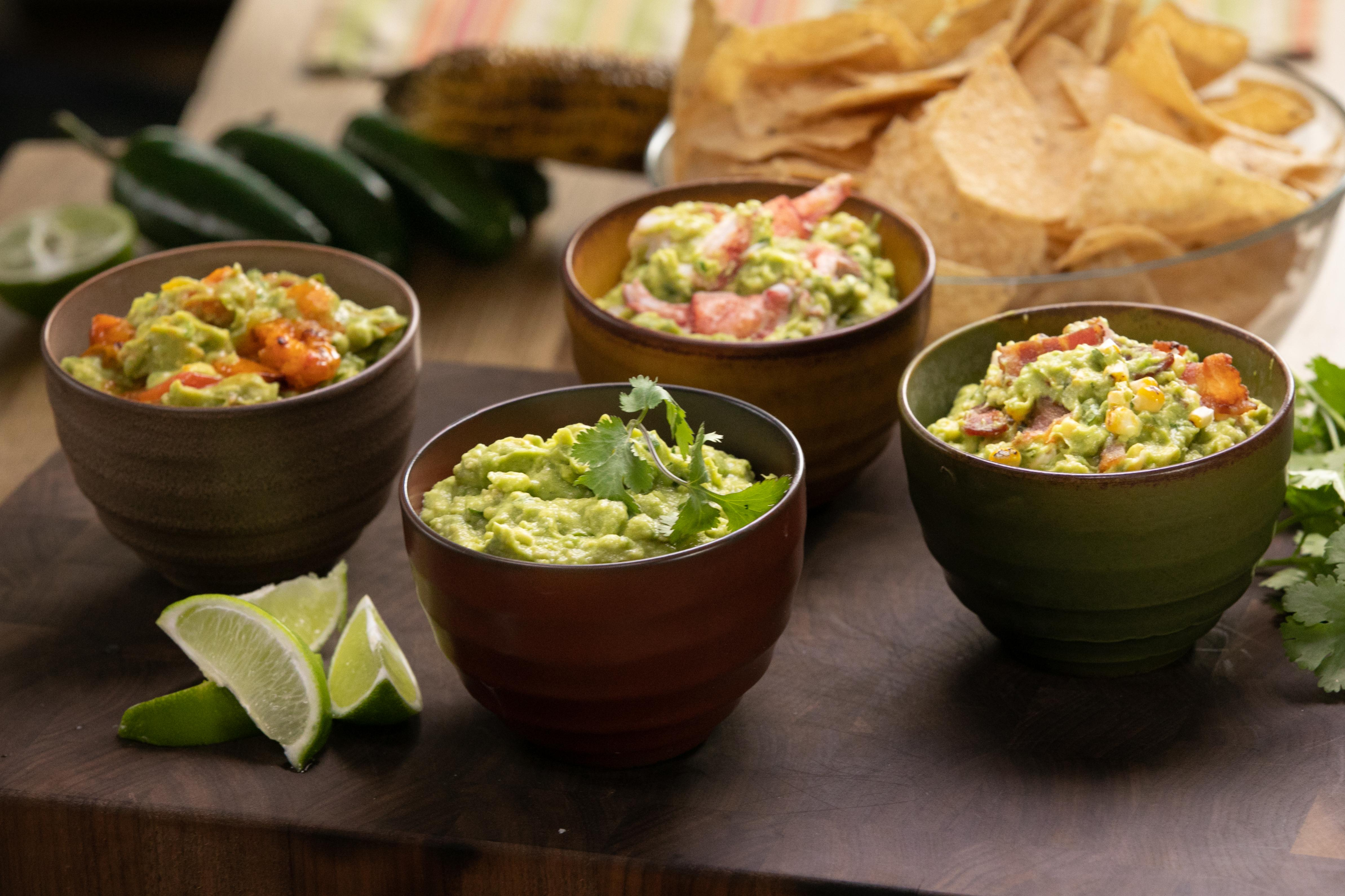 4 ways to make ridiculously tasty guacamole