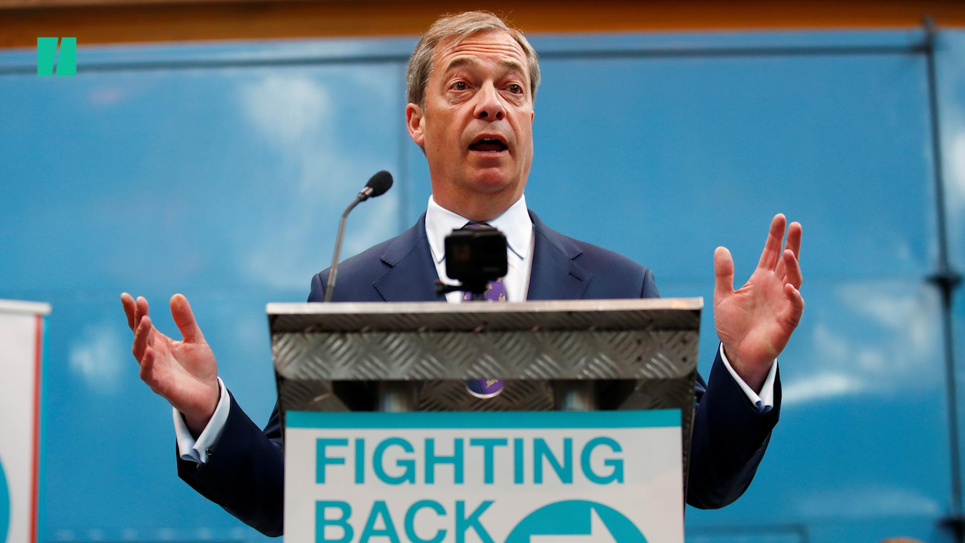 Nigel Farage's Brexit Party Leading In Latest European Election Poll