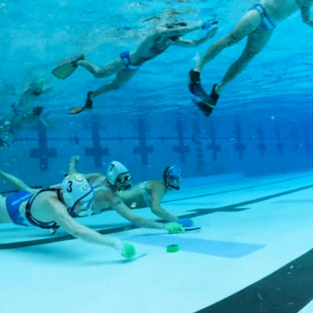 Underwater hockey is the one sport you never knew about but want to play