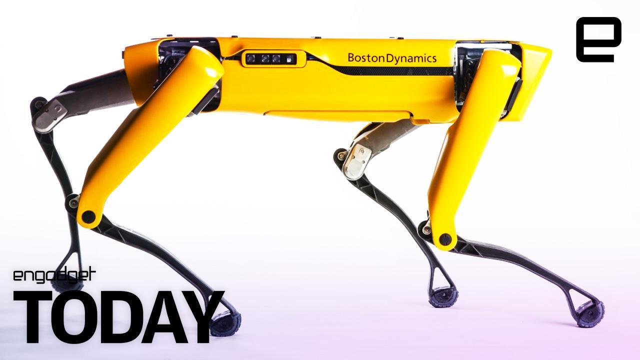 Boston Dynamics' SpotMini robots are strong enough to haul a box truck