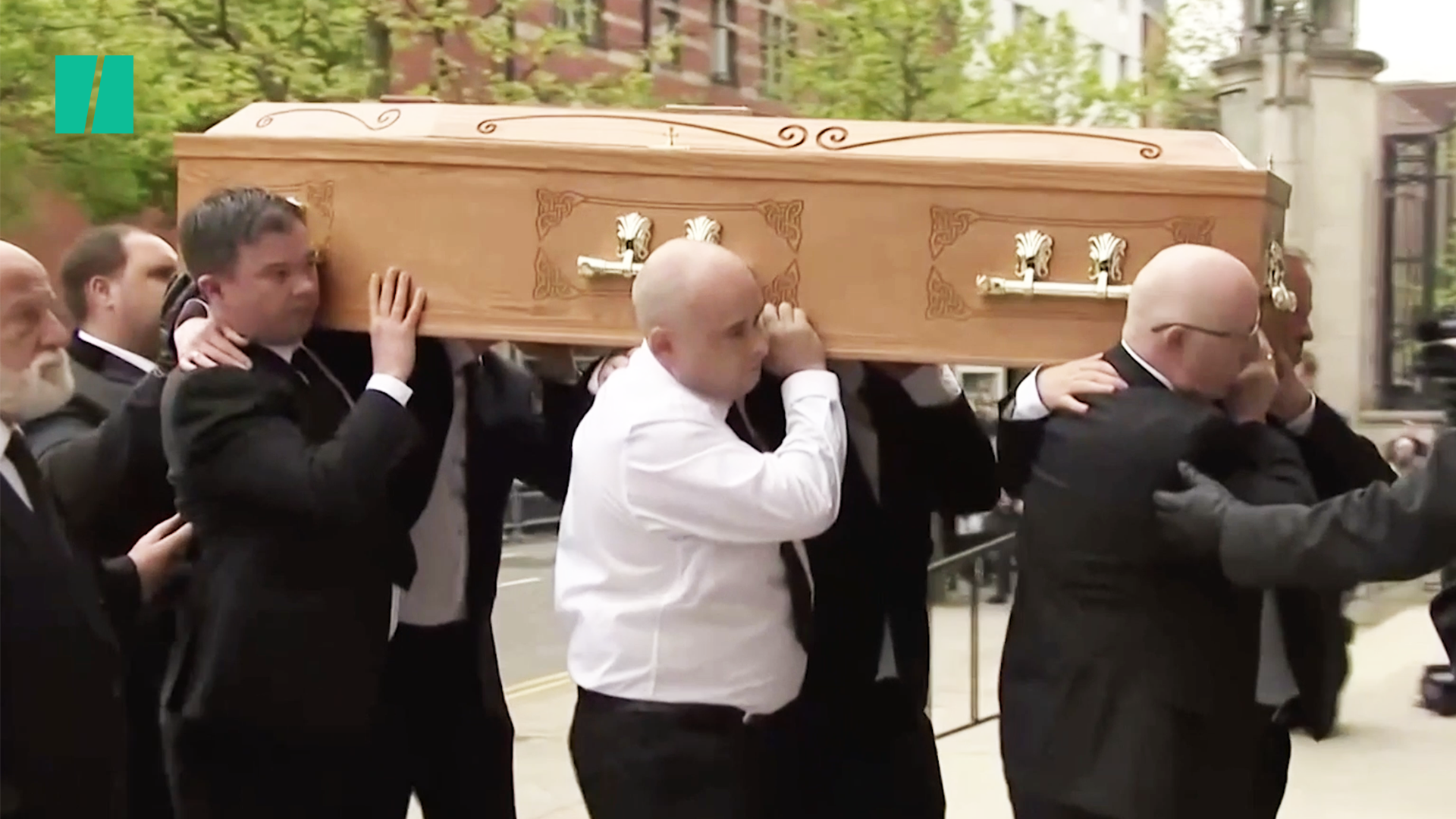 Lyra McKee Laid To Rest In Belfast