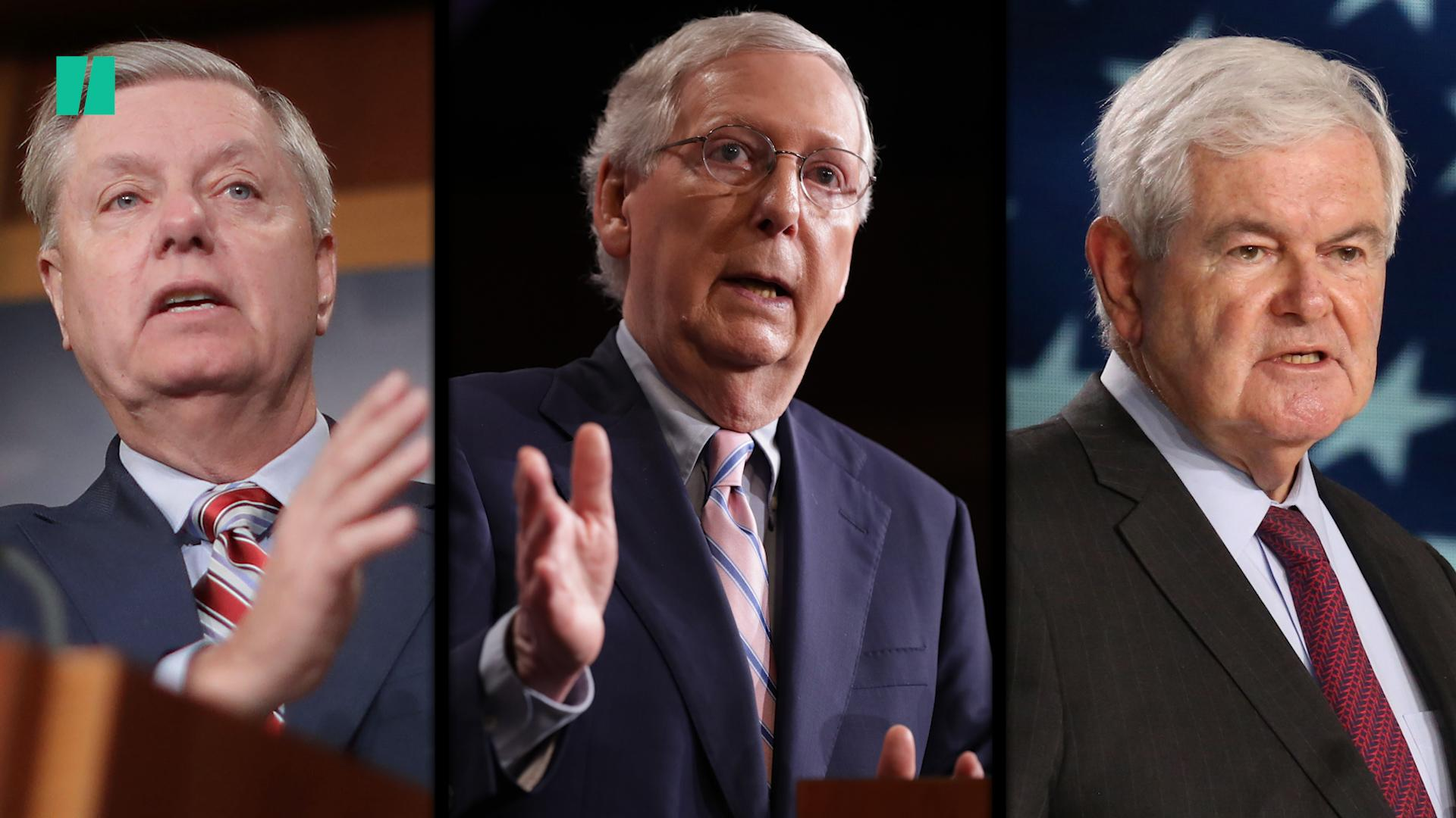 New Yorker Gives Trump 'Enablers' McConnell, Graham, Barr A Humiliating New Job