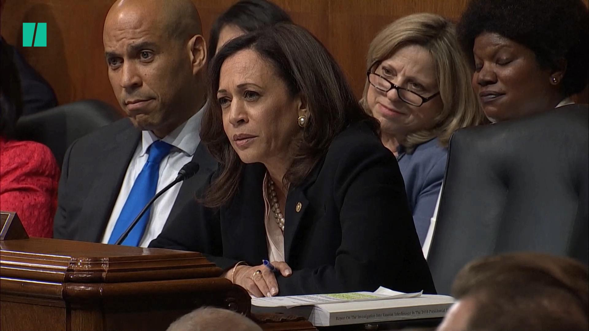 Kamala Harris Fires Back At Donald Trump For Calling Her 'Nasty'