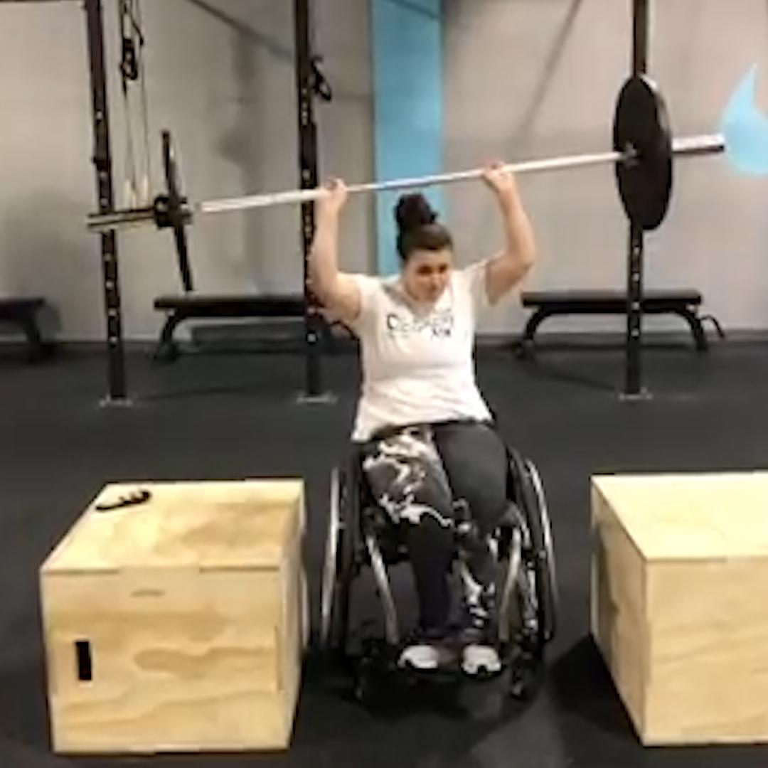 Woman with cerebral palsy beats cancer, opens CrossFit gym