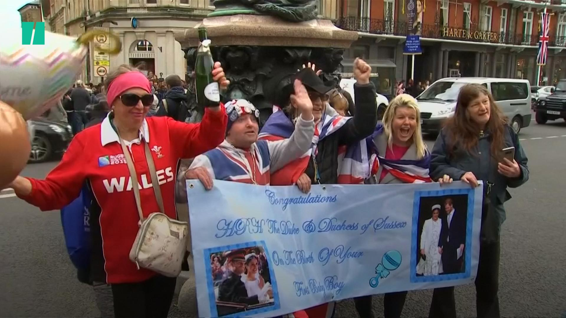 The Royal Baby's Birth Is Being Celebrated By Fans Around The World