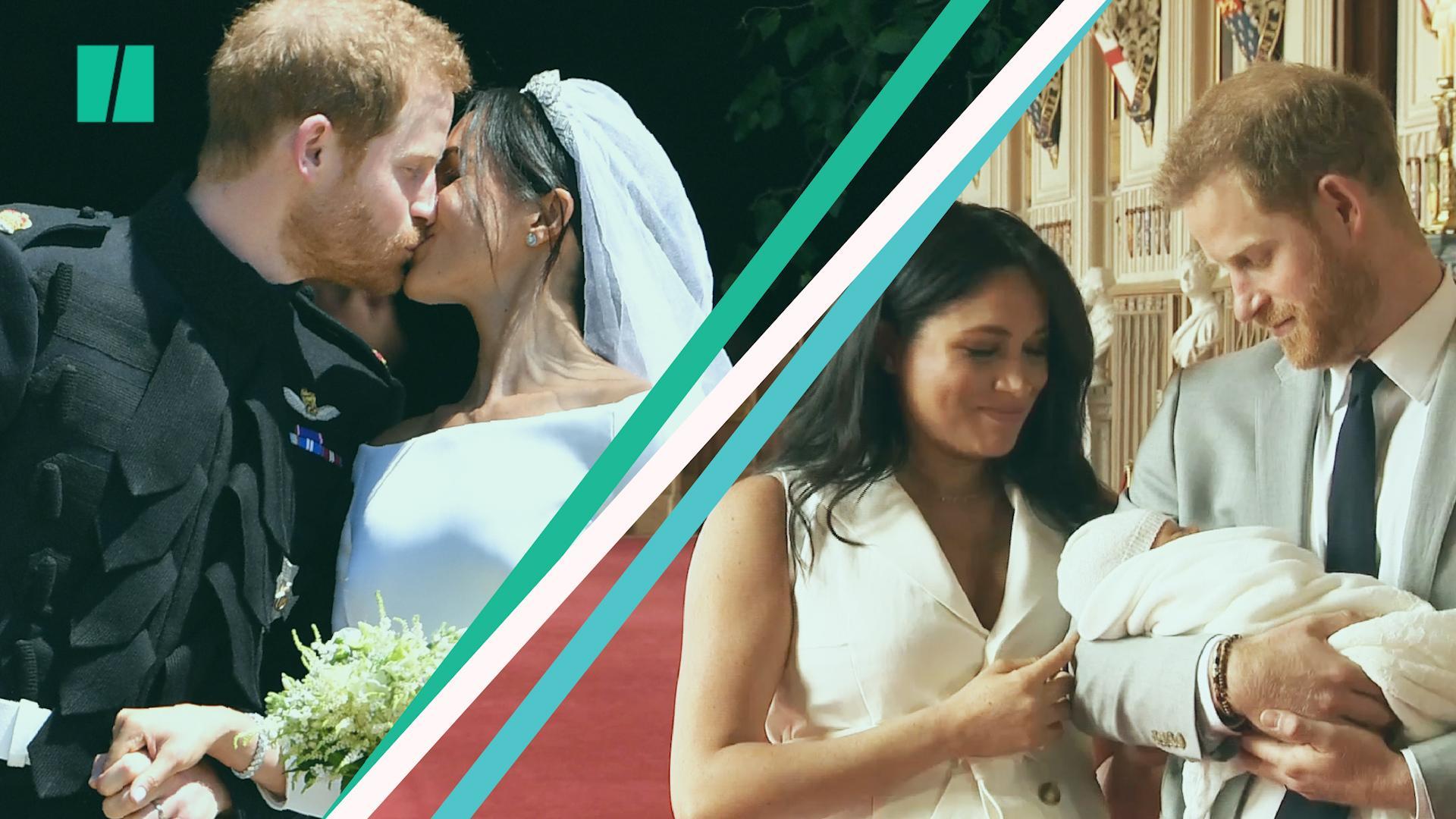 Happy 1st Wedding Anniversary To The Duke And Duchess Of Sussex!