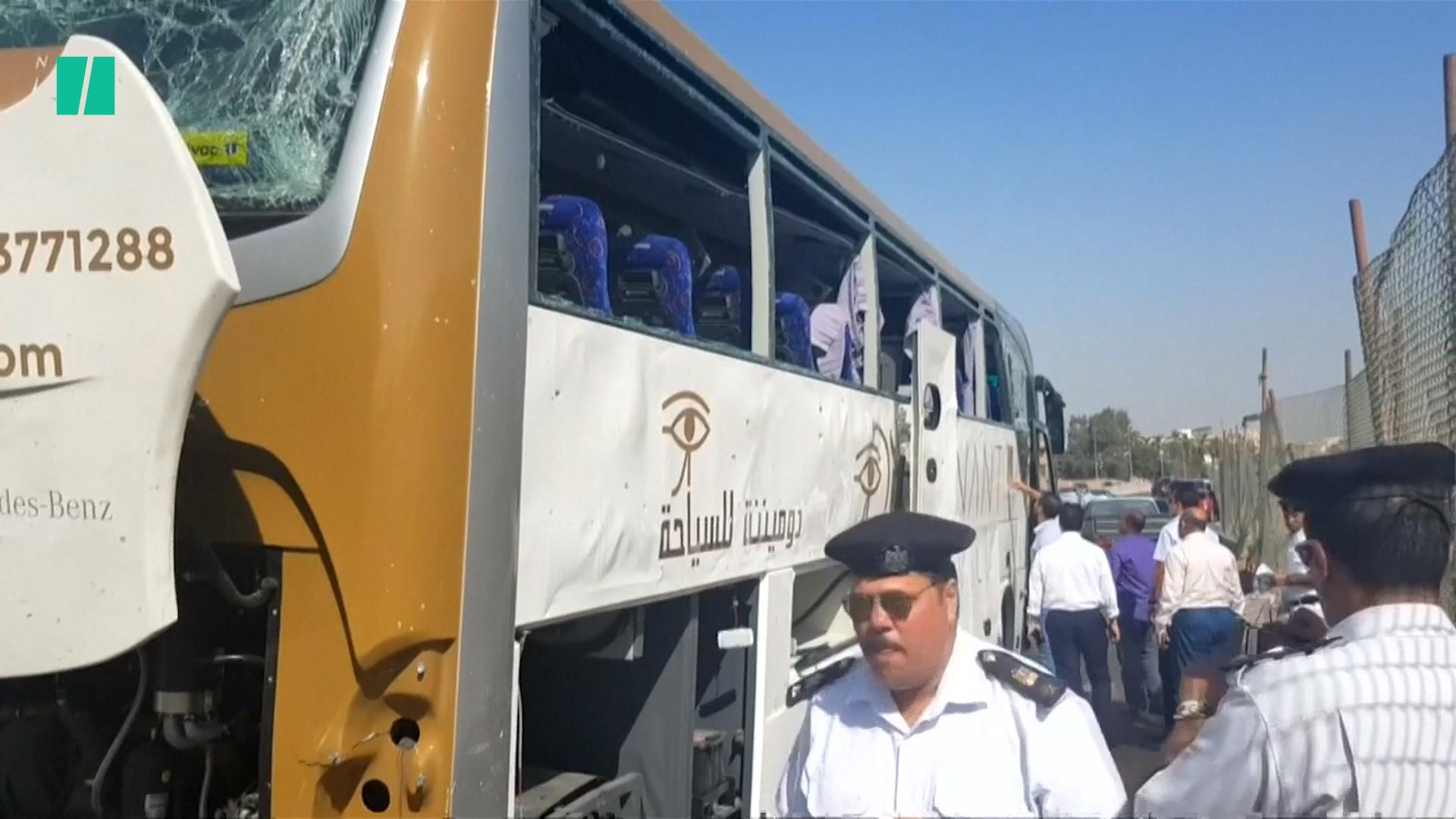 Bomb Blast Injures 17 Near Giza Pyramids In Egypt