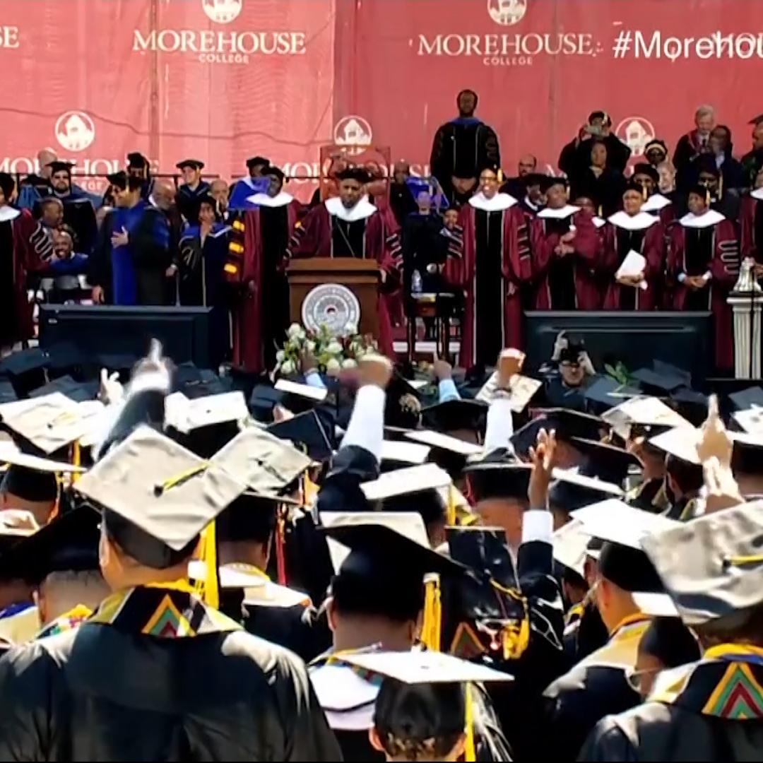 Morehouse College student's $100,000 debt wiped out, thanks to billionaire