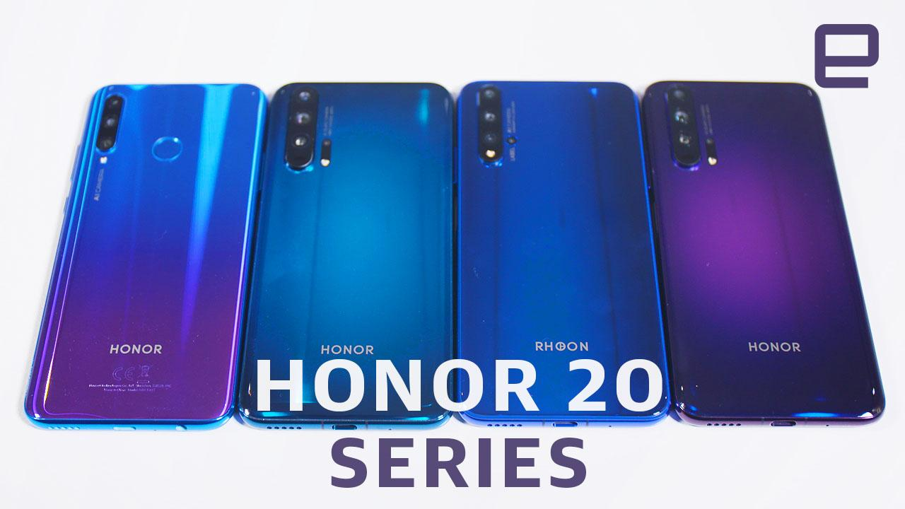 Honor 20 Pro hands-on: You'll forget it's not a flagship phone