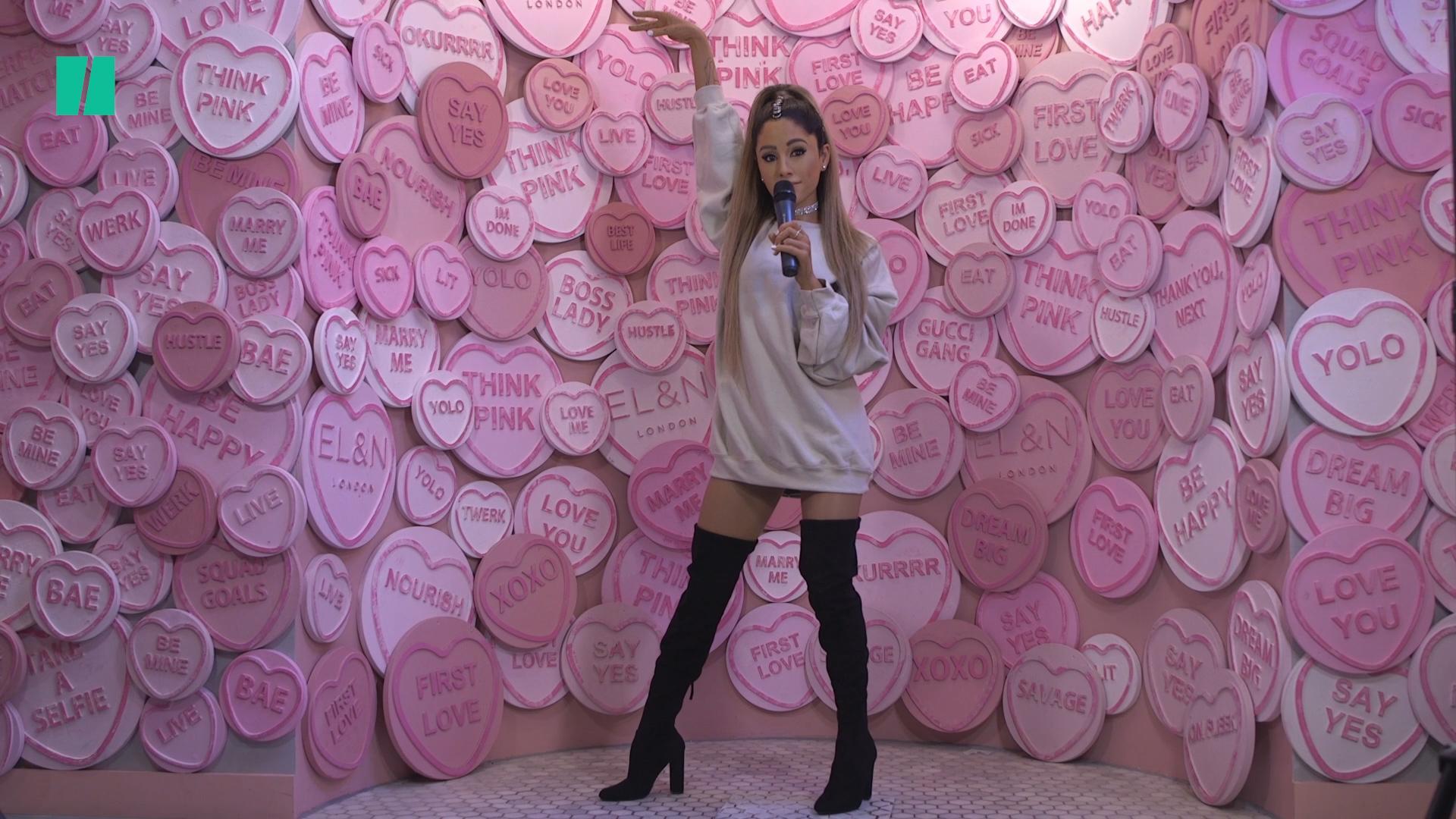 Ariana Grande Waxwork Unveiled