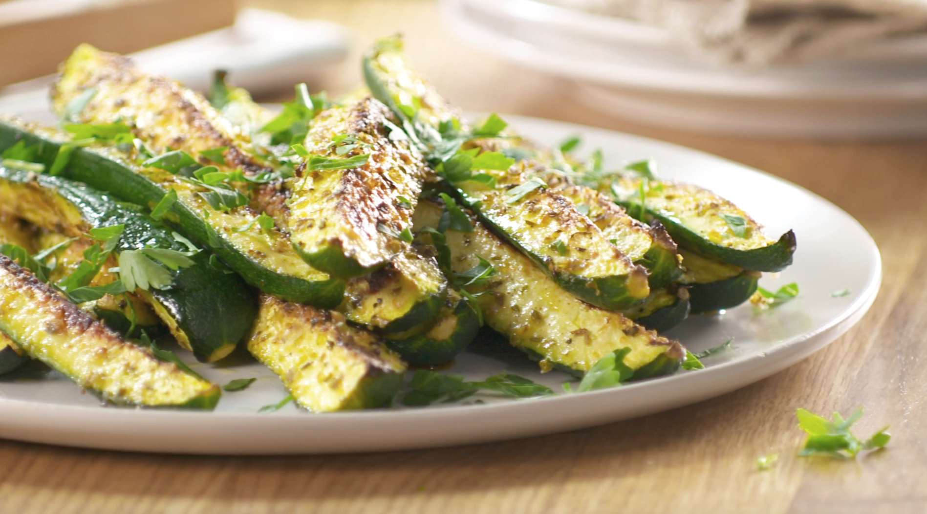 Make this baked parmesan zucchini a weeknight dinner staple