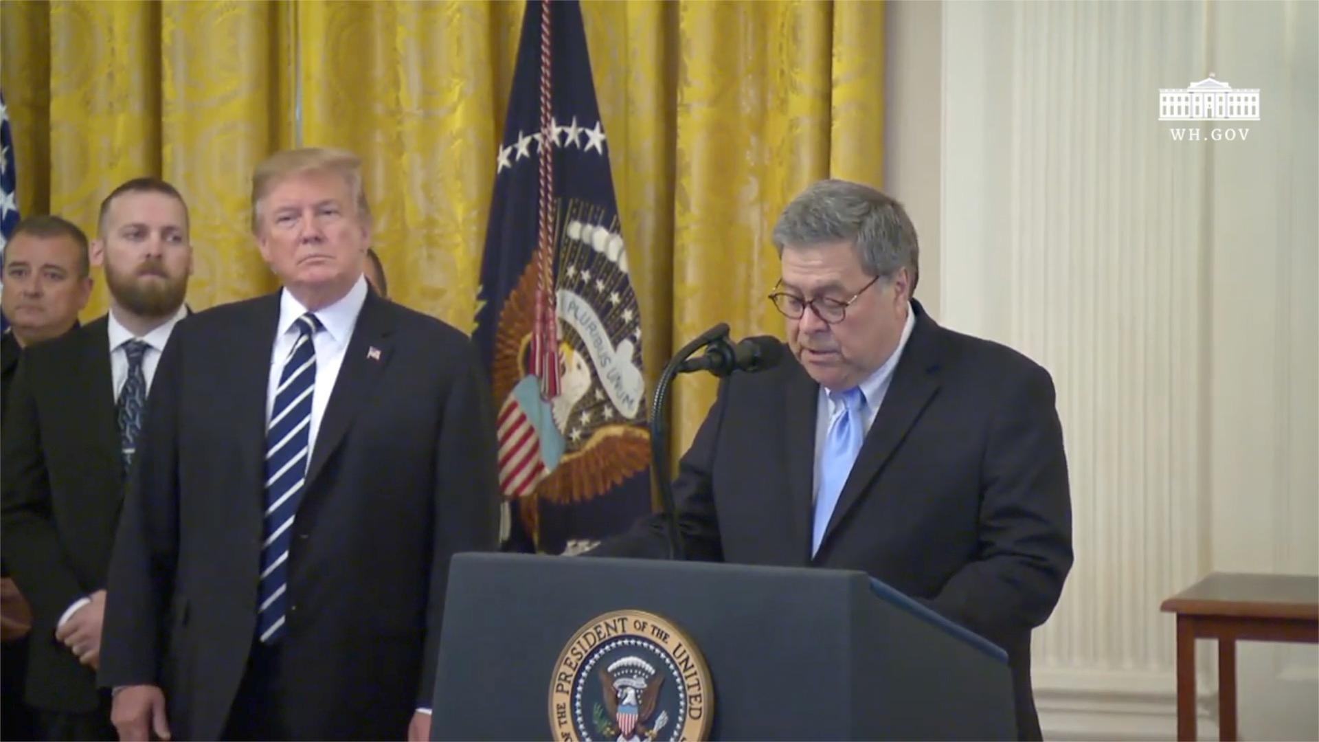Trump Gives William Barr Wide Declassification Authority In 'Spying' Probe