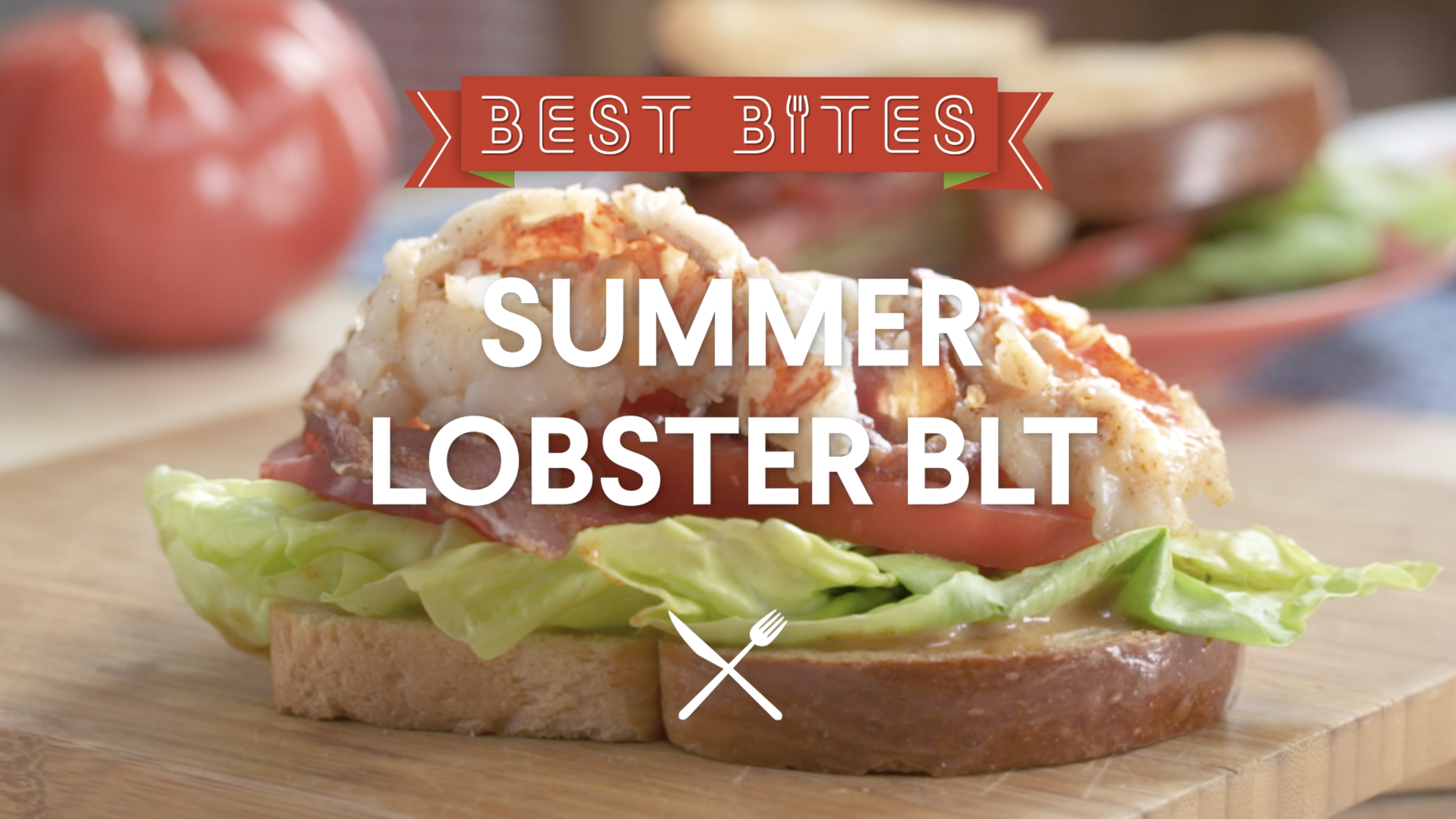 Revamp your BLT sandwich with lobster tail and sweet and smoky mayo