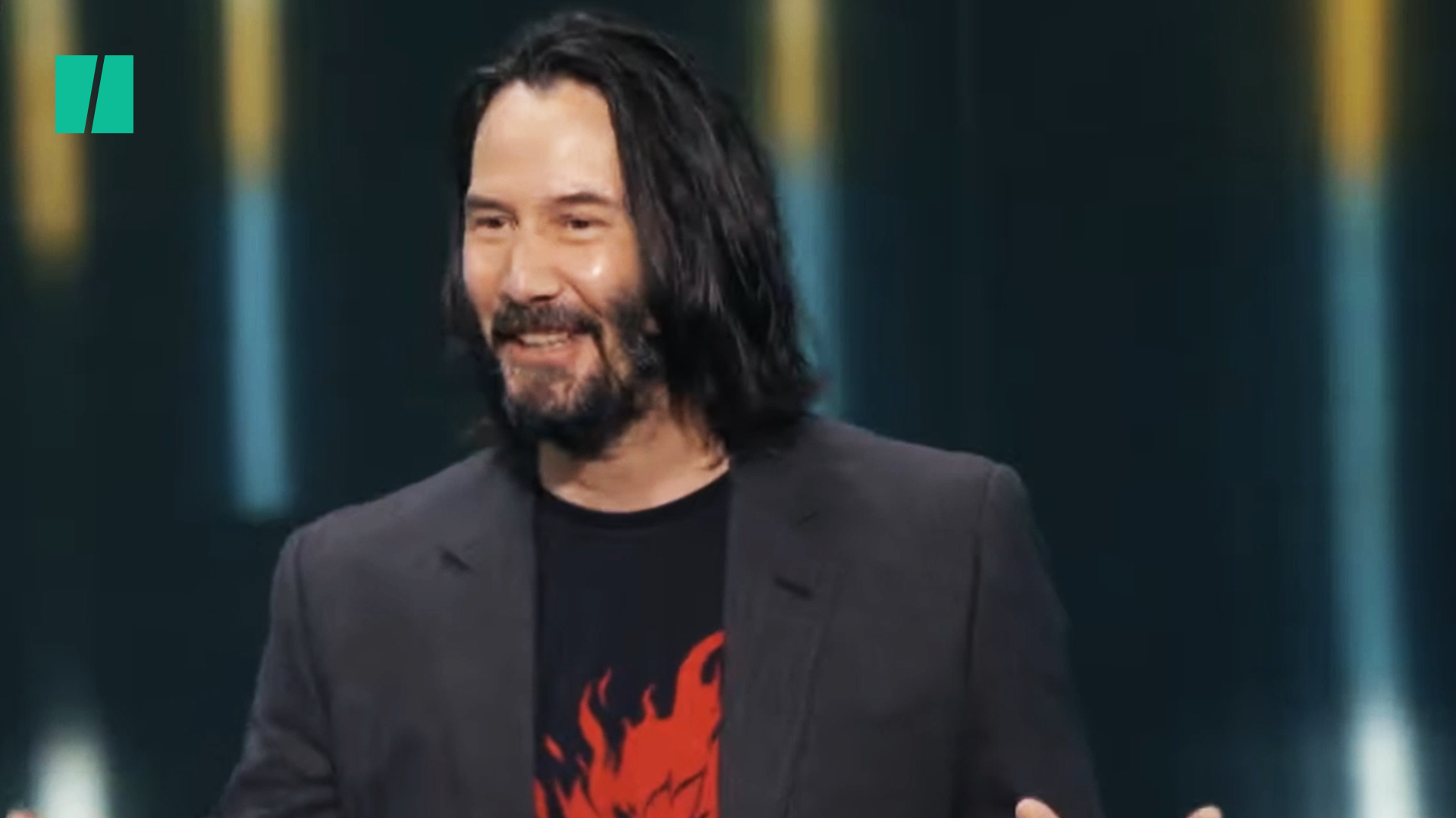 Keanu Reeves Receives Wholesome Heckle