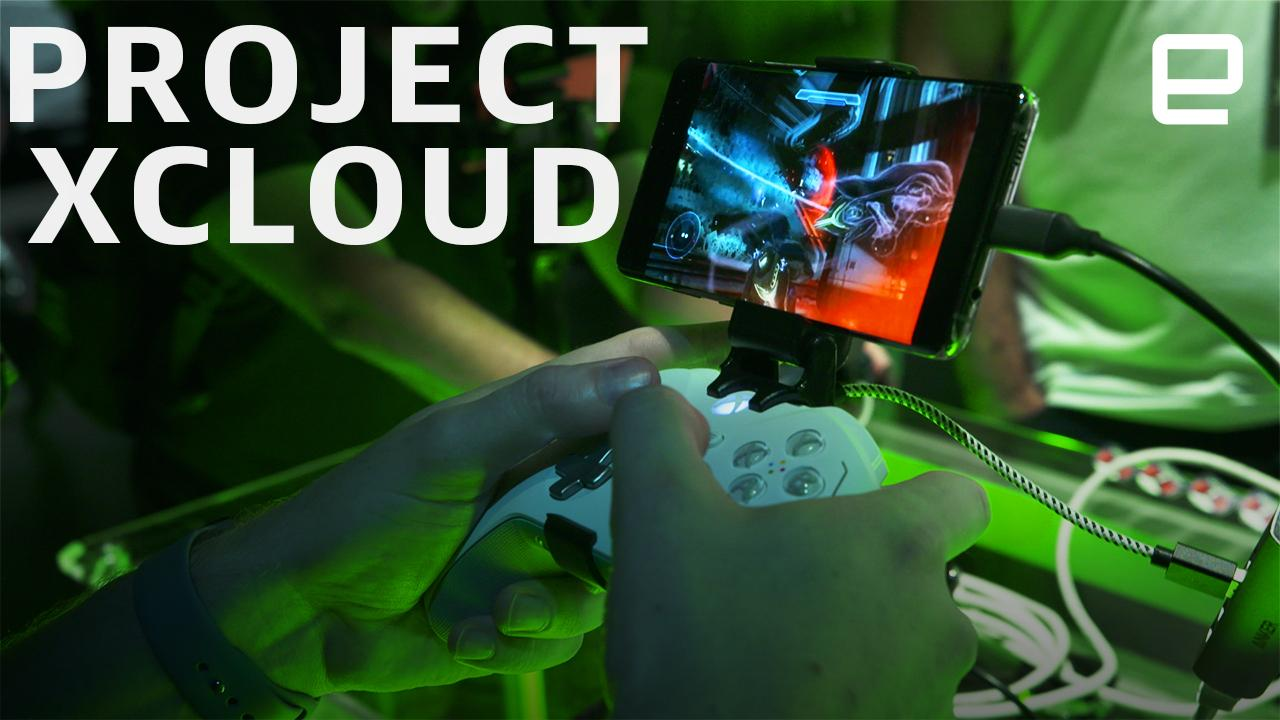 Xbox on a phone: Microsoft Project xCloud hands-on
