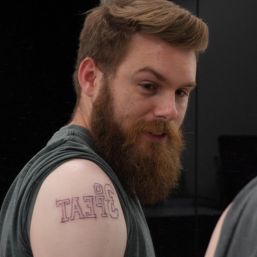 Brave NBA fans get Finals tattoos from legendary artist