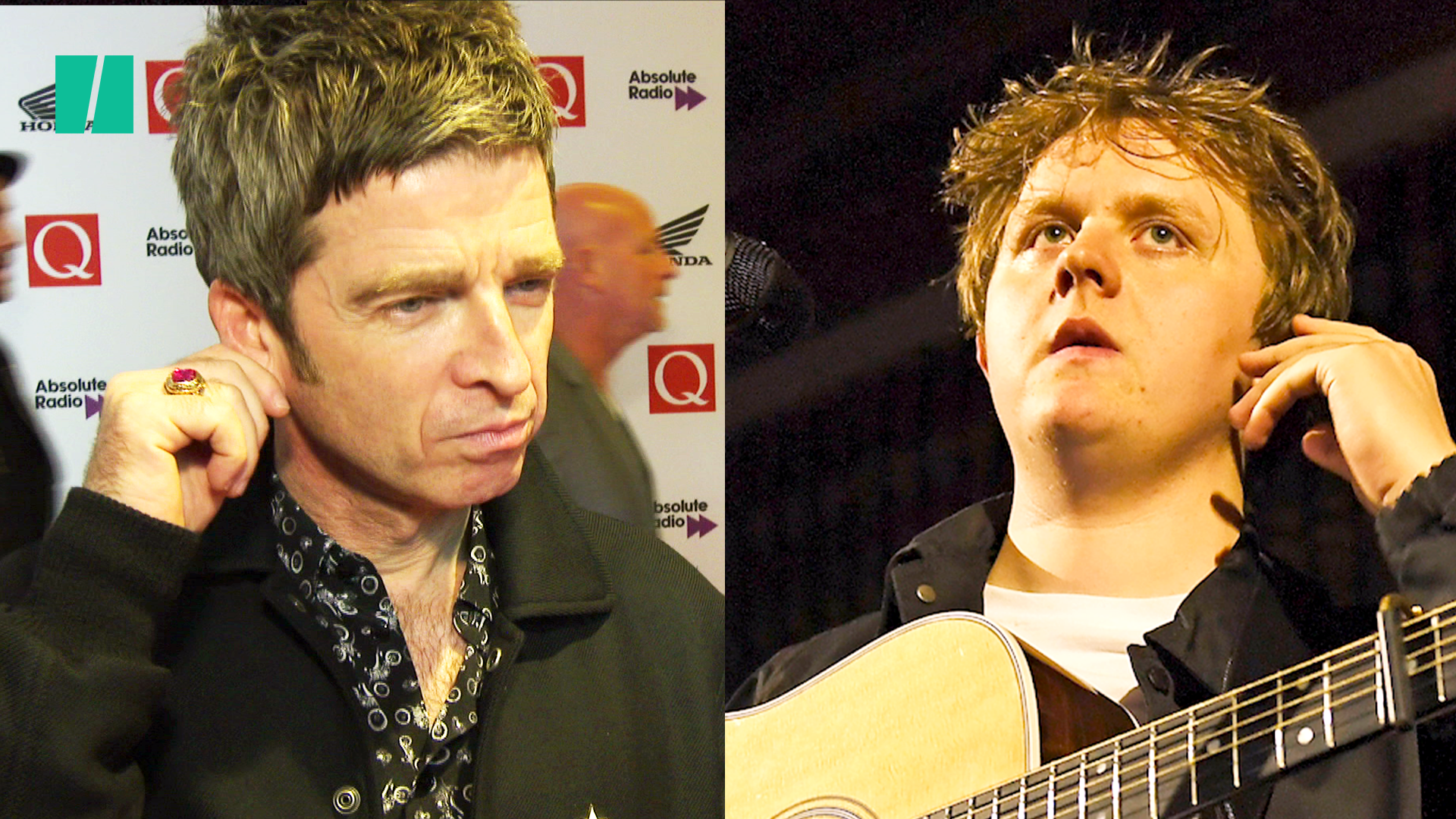Lewis Capaldi Celebrates Being Slagged Off By Noel Gallagher