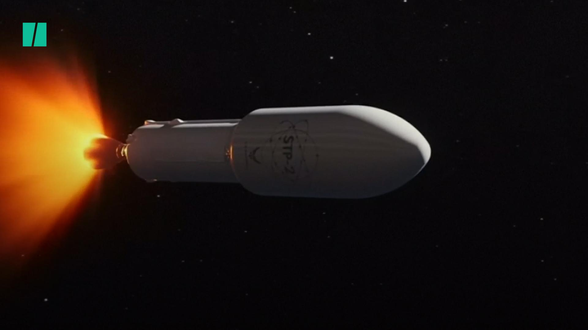 SpaceX Rocket Completes Mission With 24 Satellites