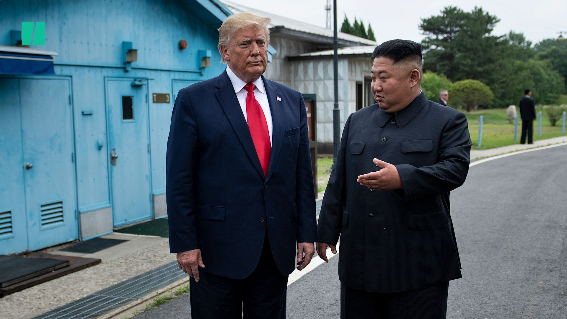 Photo Of Trump With Pal Kim Jong Un Now On White House Wall