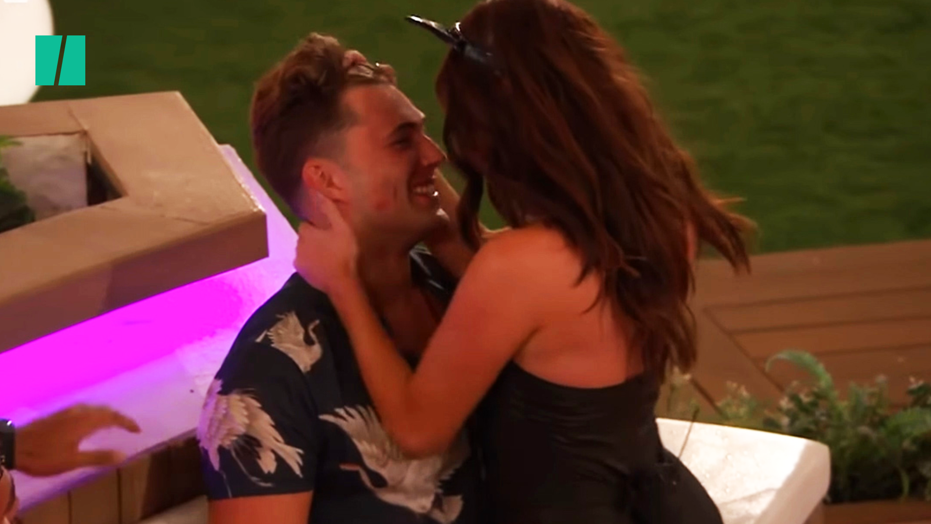 Love Island Unpacked: Maura And Curtis Get Steamy