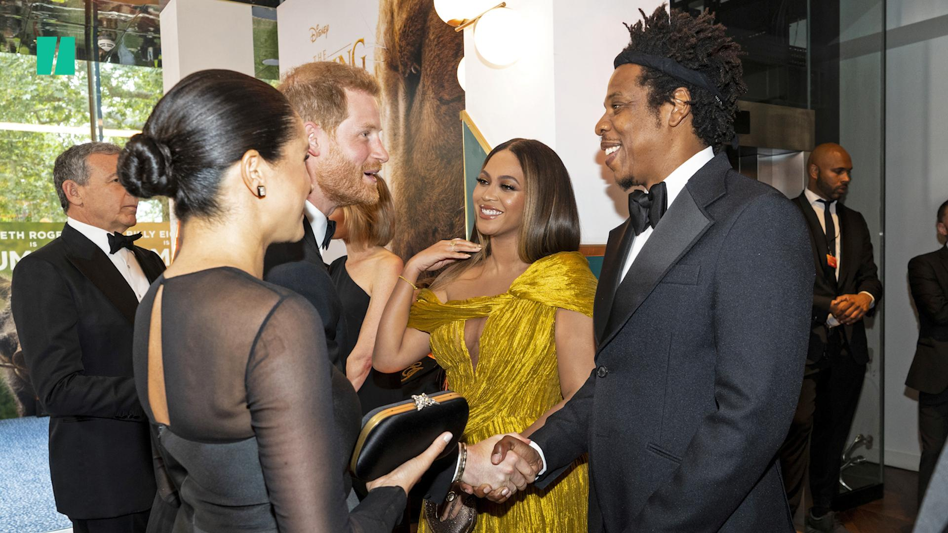 When Meghan And Harry Met Beyonce And Jay Z
