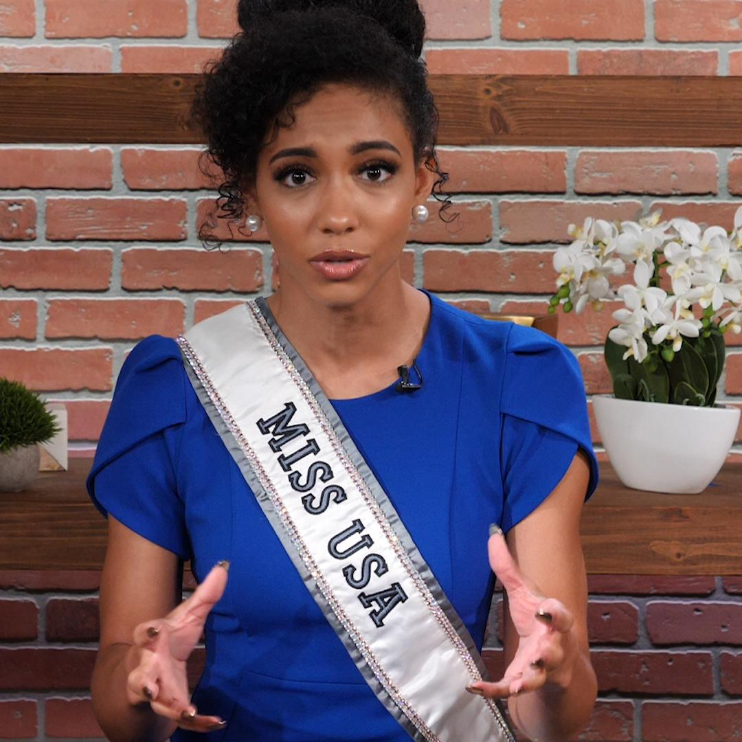 Miss USA 2019 Cheslie Kryst speaks on the migrant crisis: 'I've slept on a floor before'